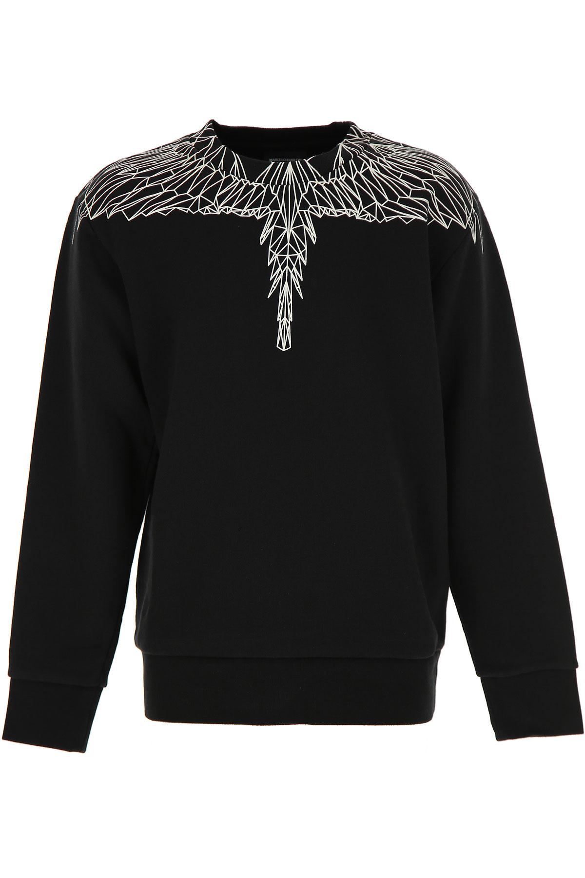 Marcelo Burlon Kids Sweatshirts & Hoodies for Boys On Sale, Black, Cotton, 2019, 10Y 12Y 14Y 6Y 8Y