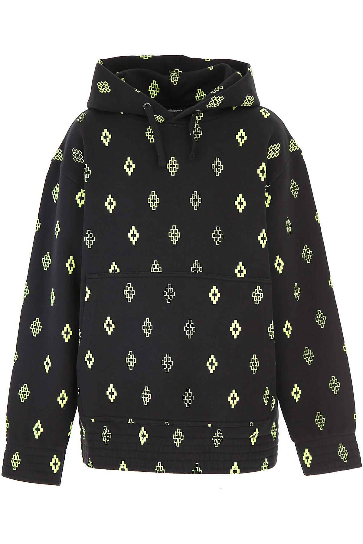 Marcelo Burlon Kids Sweatshirts & Hoodies for Boys On Sale, Black, Cotton, 2019, 10Y 12Y 14Y 8Y