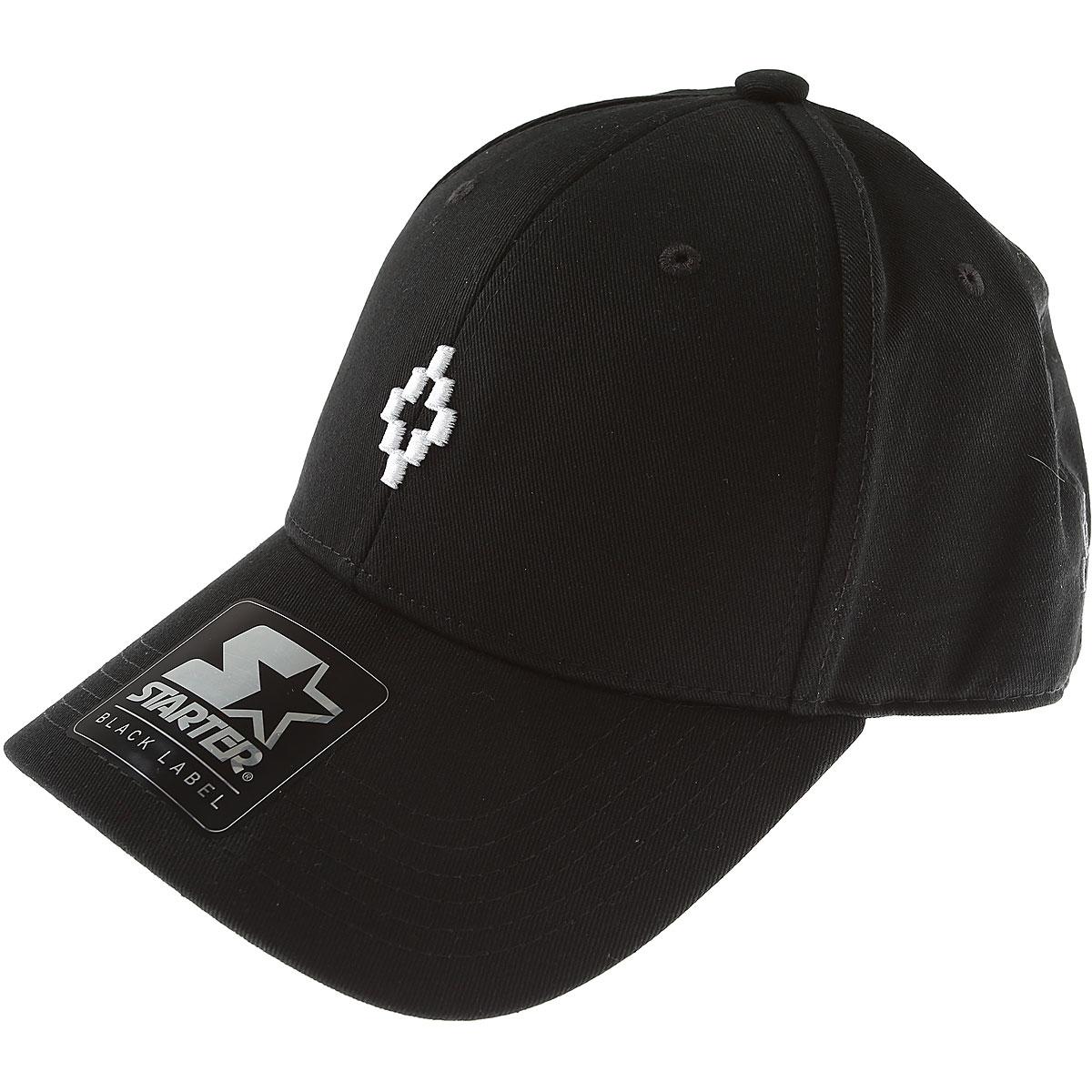 Marcelo Burlon Kids Hats for Boys On Sale in Outlet, Black, Cotton, 2019