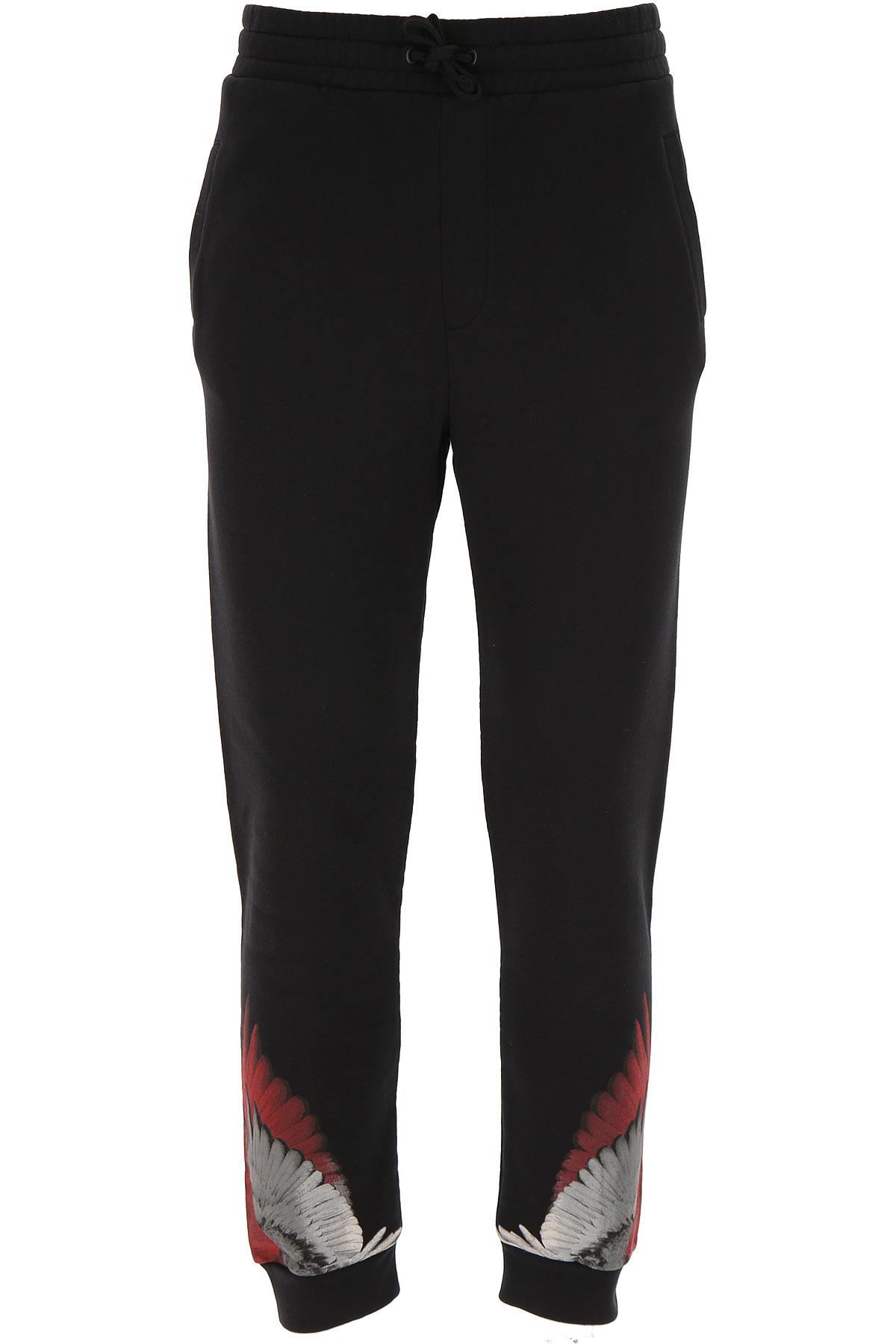 Marcelo Burlon Kids Sweatpants for Boys On Sale, Black, Cotton, 2019, 10Y 12Y 14Y 8Y