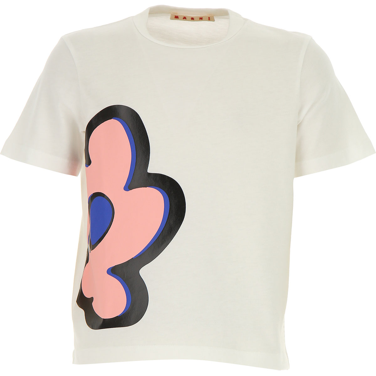 Image of Marni Kids T-Shirt for Girls, White, Cotton, 2017, 10Y 14Y 6Y 8Y