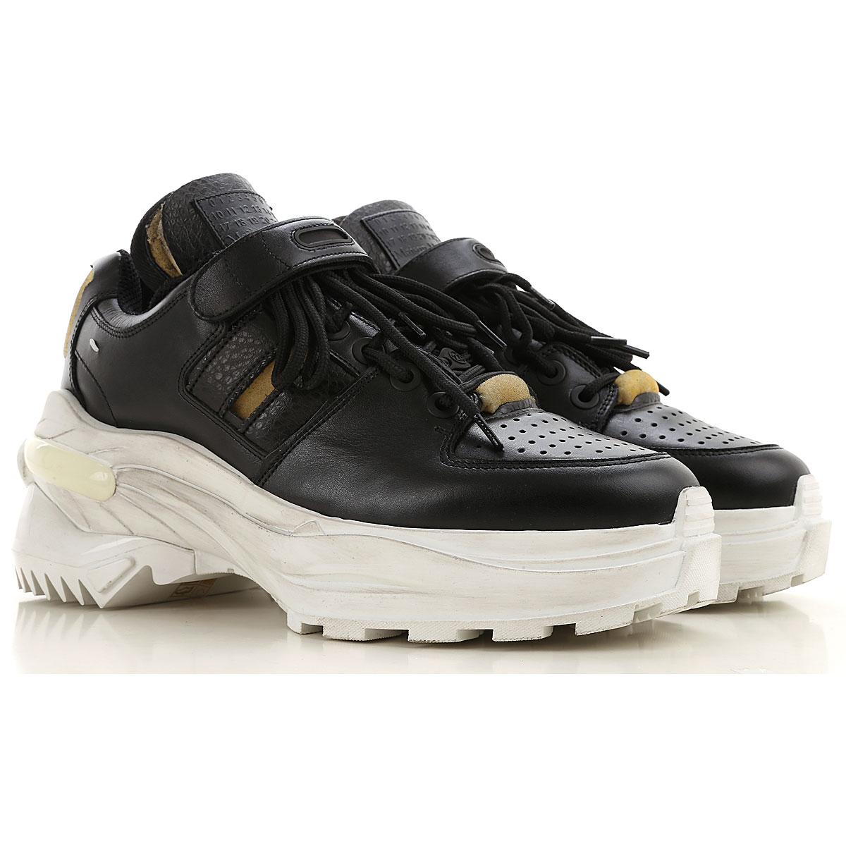 Maison Martin Margiela Mens Shoes On Sale, Black, Leather, 2019, 10 6.5 7.5 8 9