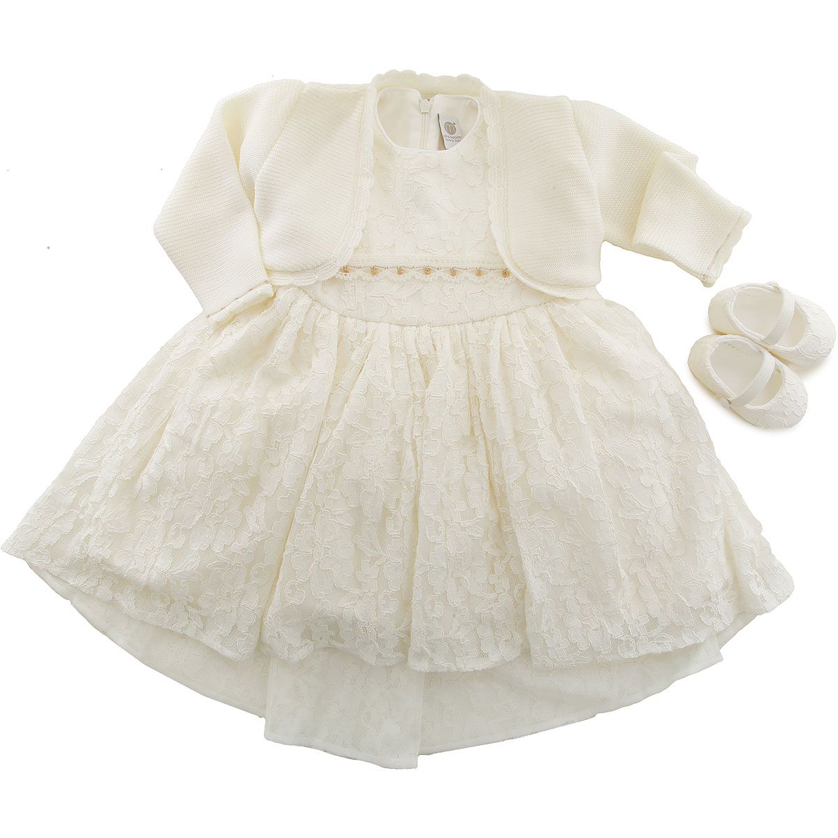 Marlu Baby Sets for Girls On Sale, Cream, Viscose, 2019, 12M 9M