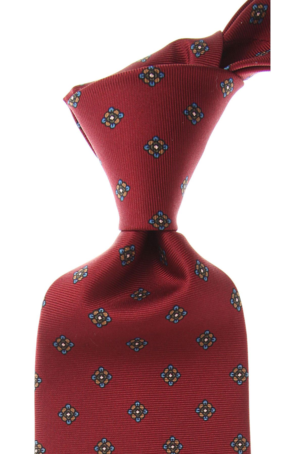 Image of Marinella Ties On Sale, Bordeaux, Silk, 2017