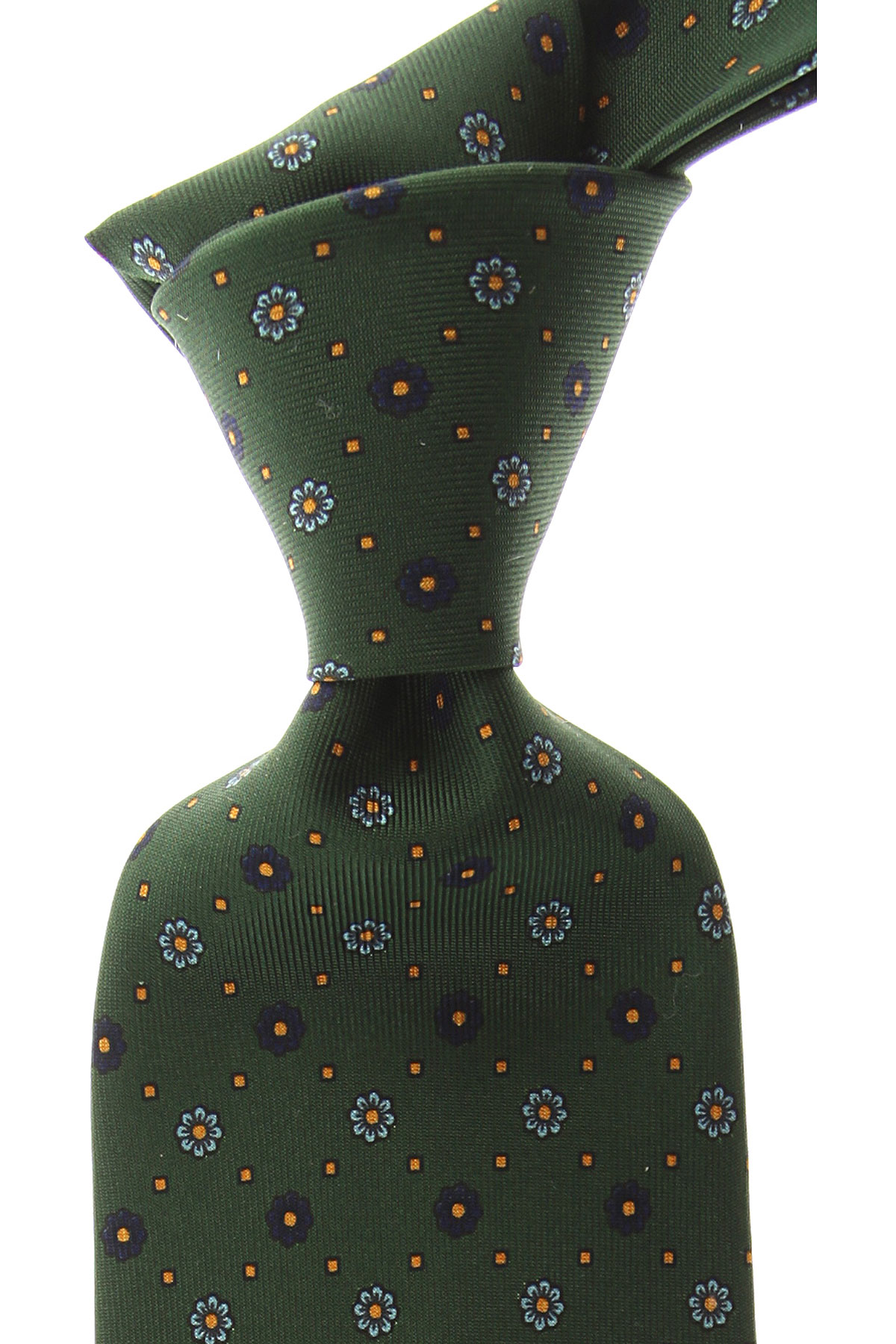 Marinella Ties On Sale, Bottle Green, Silk, 2019