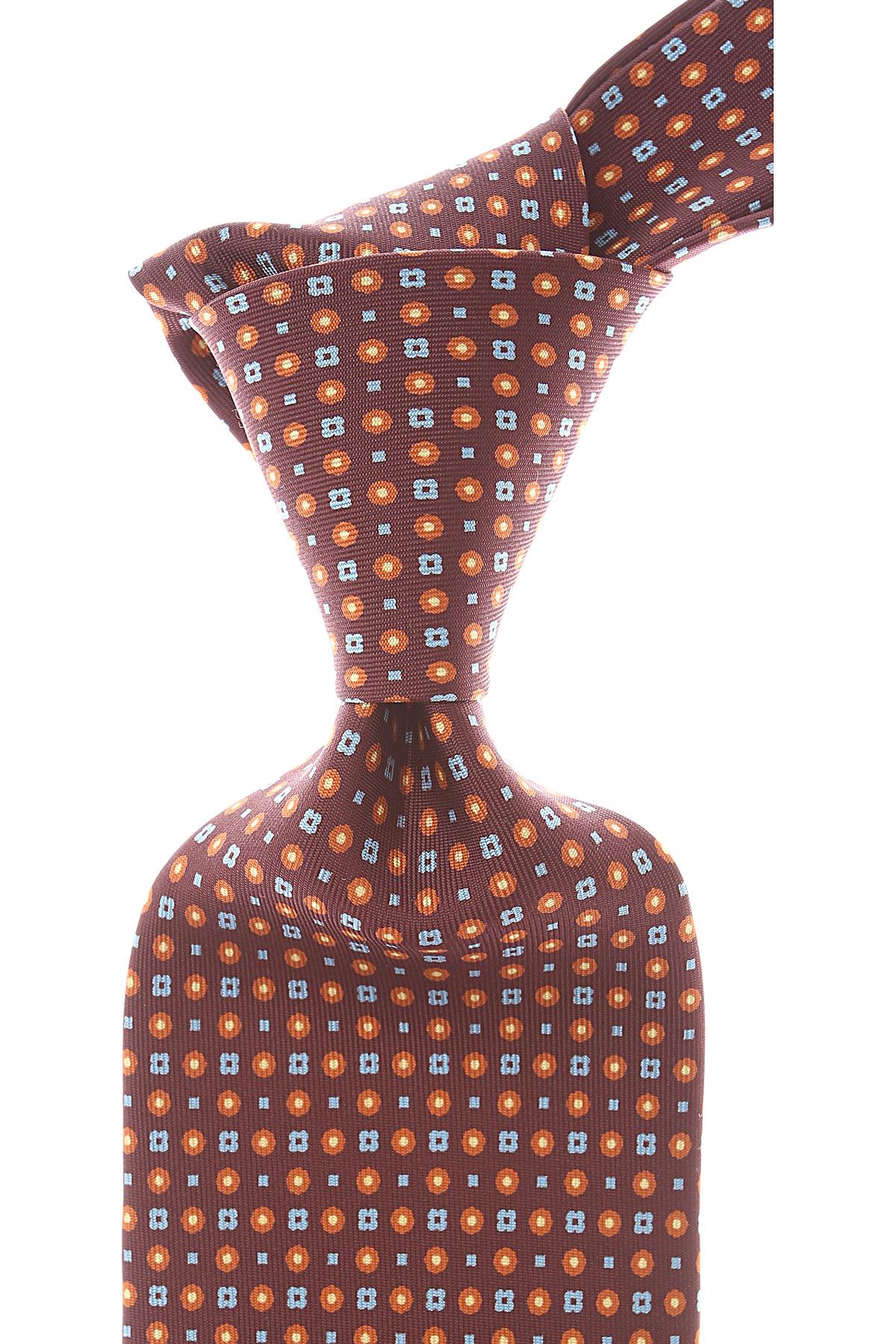 Marinella Cravates Pas cher en Soldes, Plume, Soie, 2021