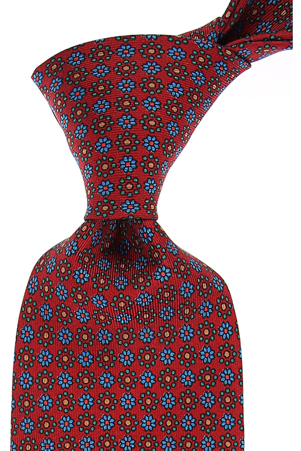 Marinella Cravates Pas cher en Soldes, Bordeaux, Soie, 2021