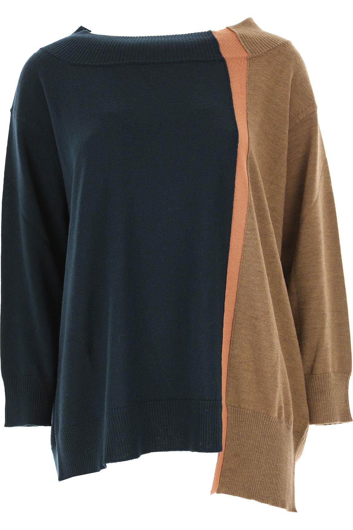 Image of Antonio Marras Sweater for Women Jumper, Dark Bottle Green, Wool, 2017, 4 6