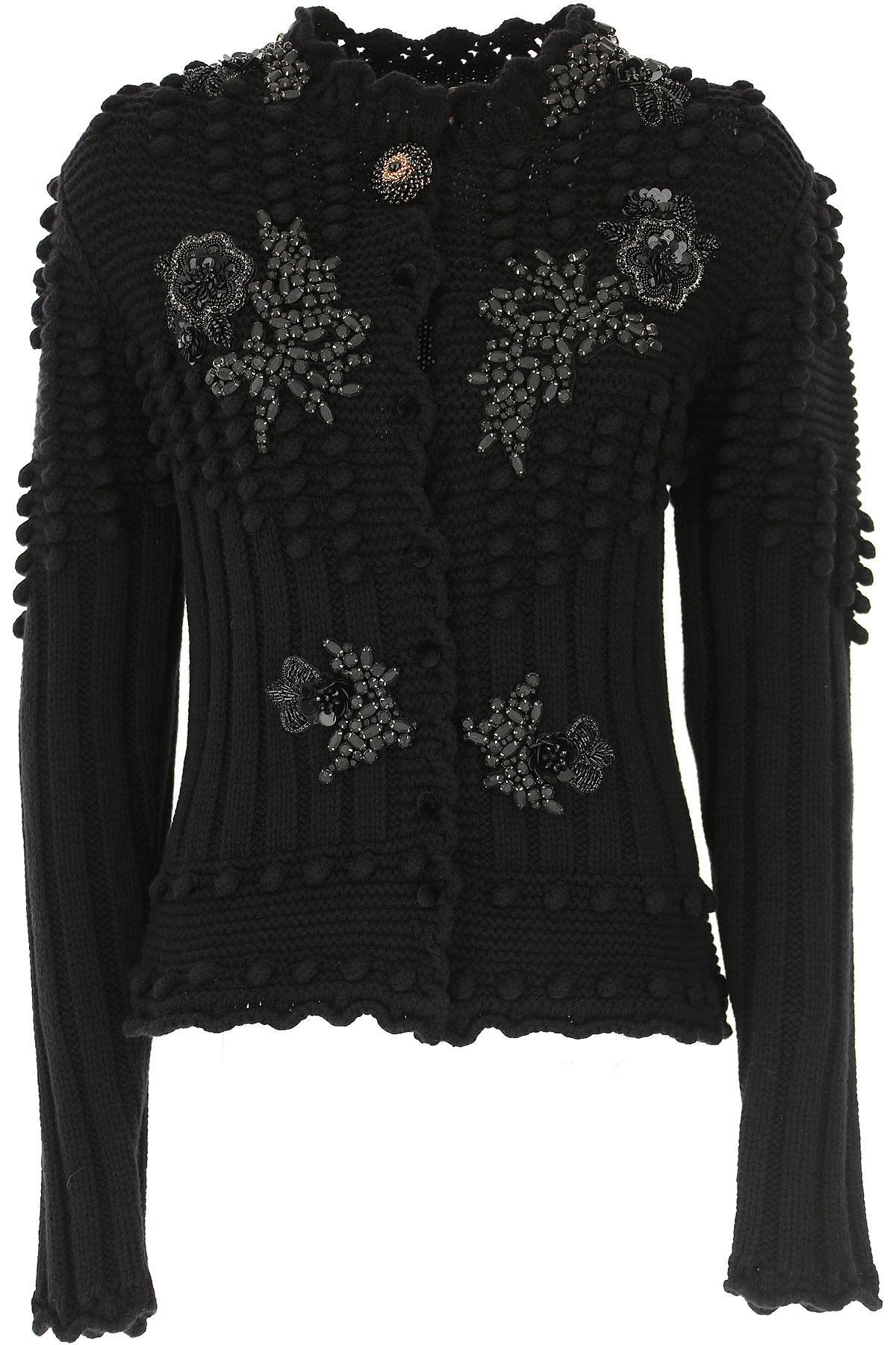 Image of Antonio Marras Sweater for Women Jumper, Black, Virgin wool, 2017, 4 6