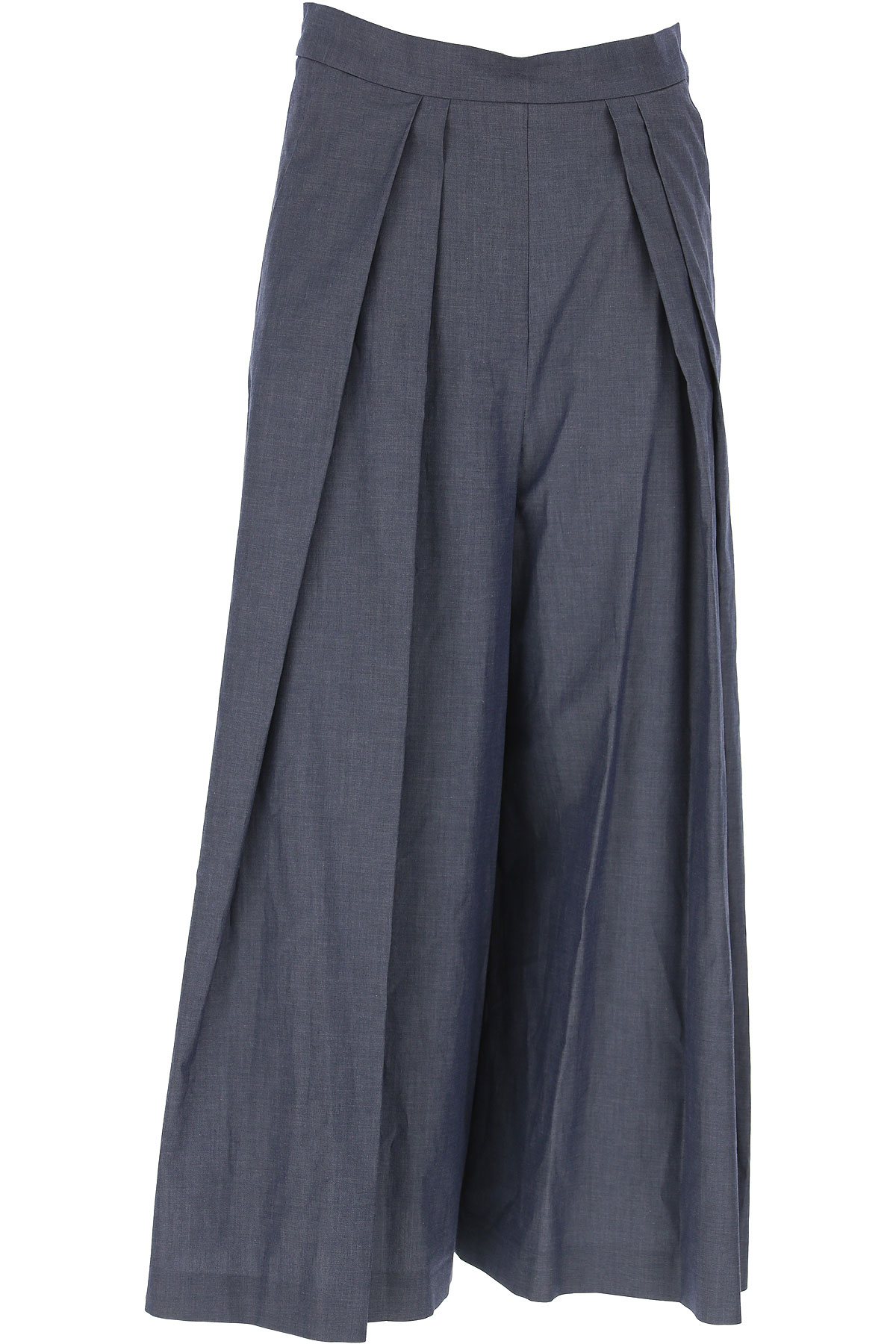 Antonio Marras Pantalon Femme, Denim bleu, Coton, 2017, 38 40 42