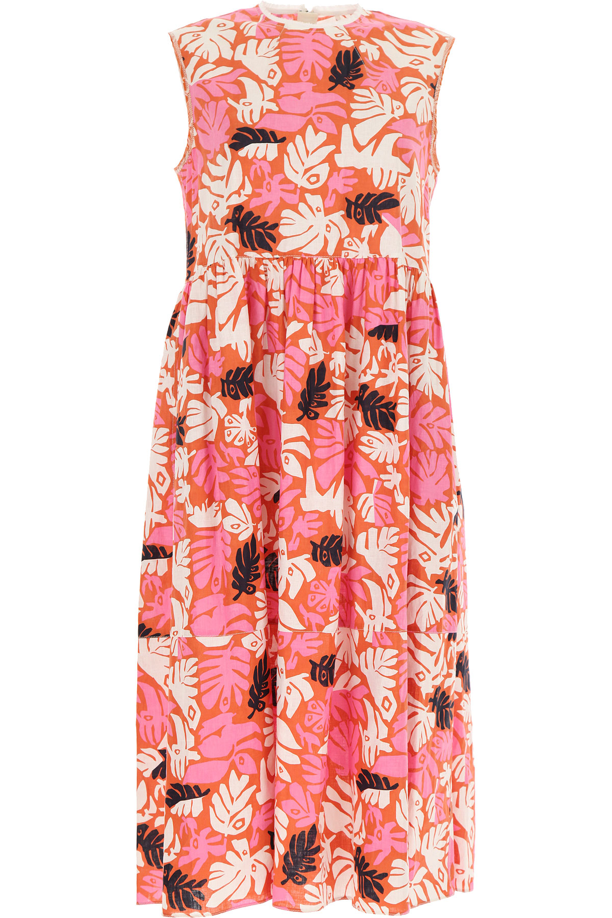 Marni Dress for Women, Evening Cocktail Party On Sale, Pink, linen, 2019, 4 6