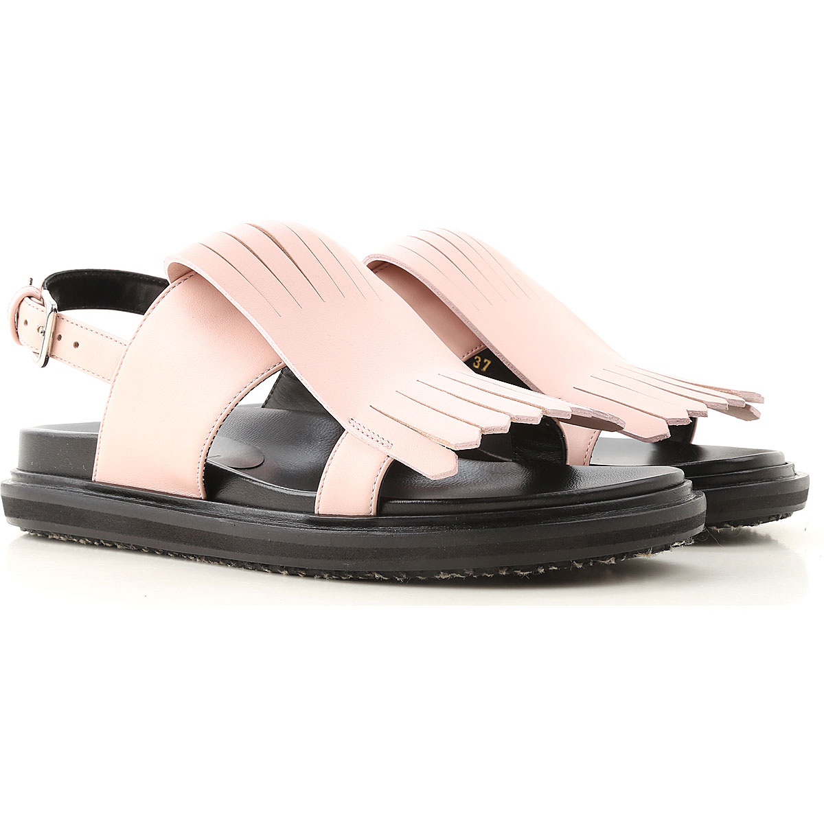 Marni Sandals for Women On Sale, soft pink, Leather, 2019, 6 7 8