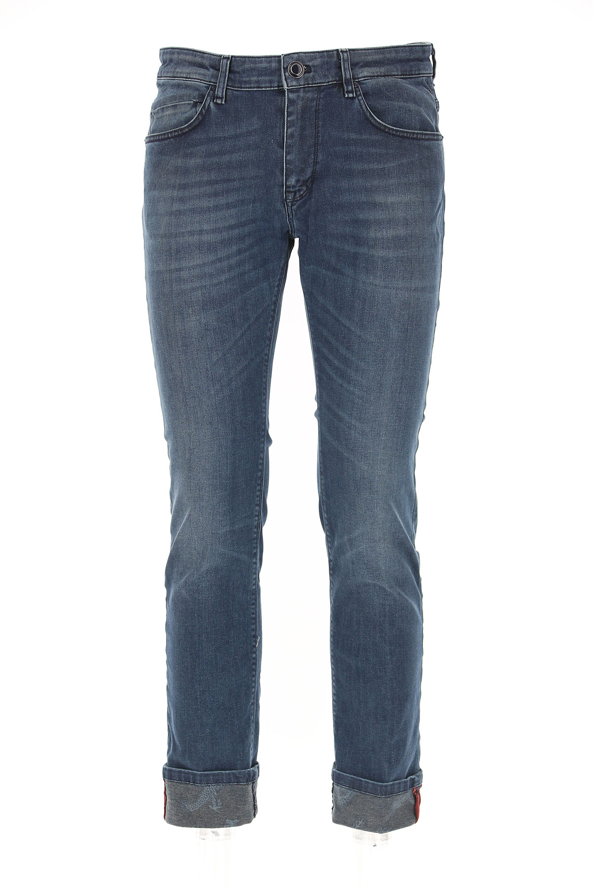 Image of Masons Jeans, Denim Blue, Cotton, 2017, 30 32 34 36