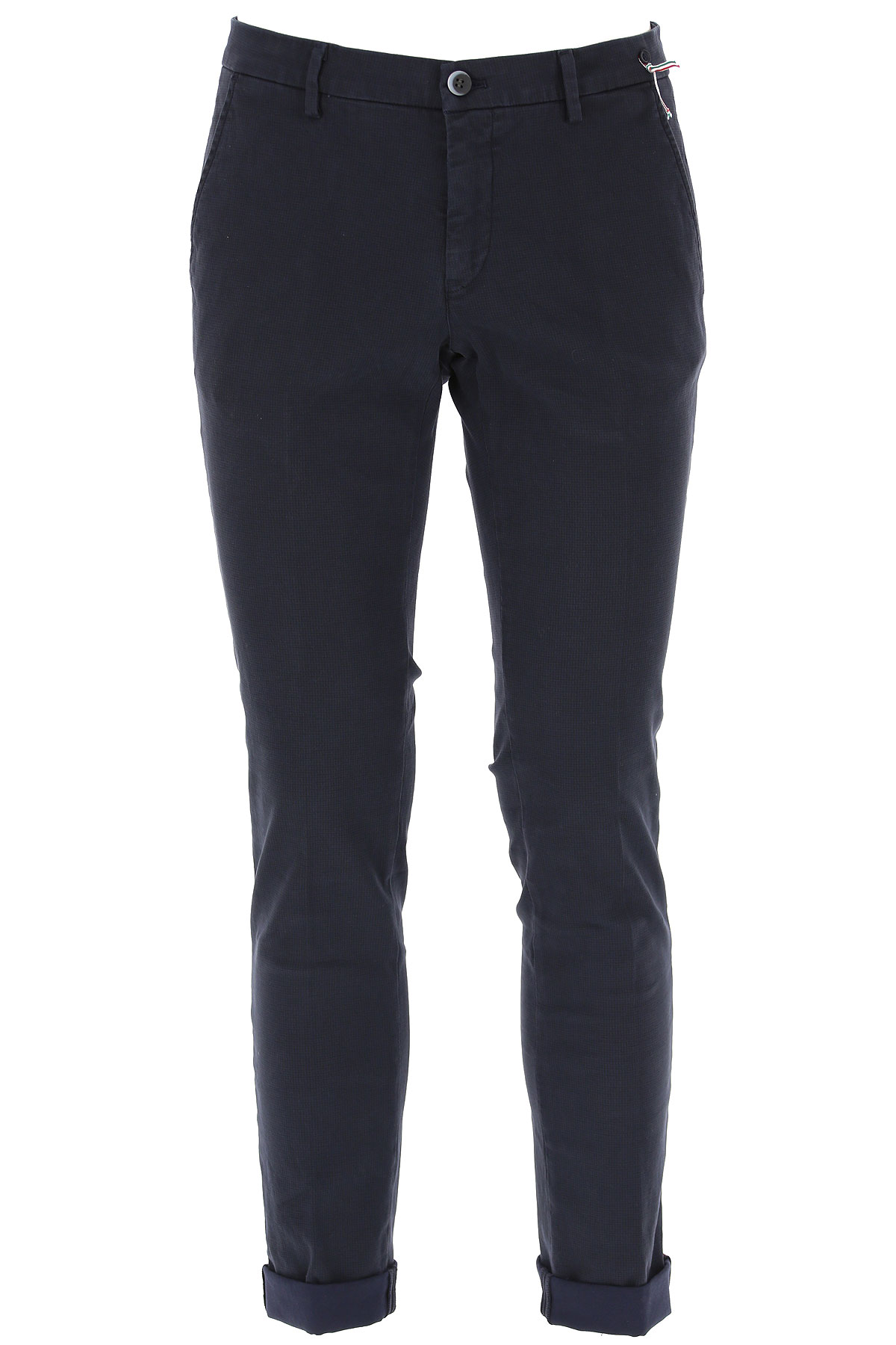 Masons Pants for Men On Sale, Midnight Blue, Cotton, 2019, M XL