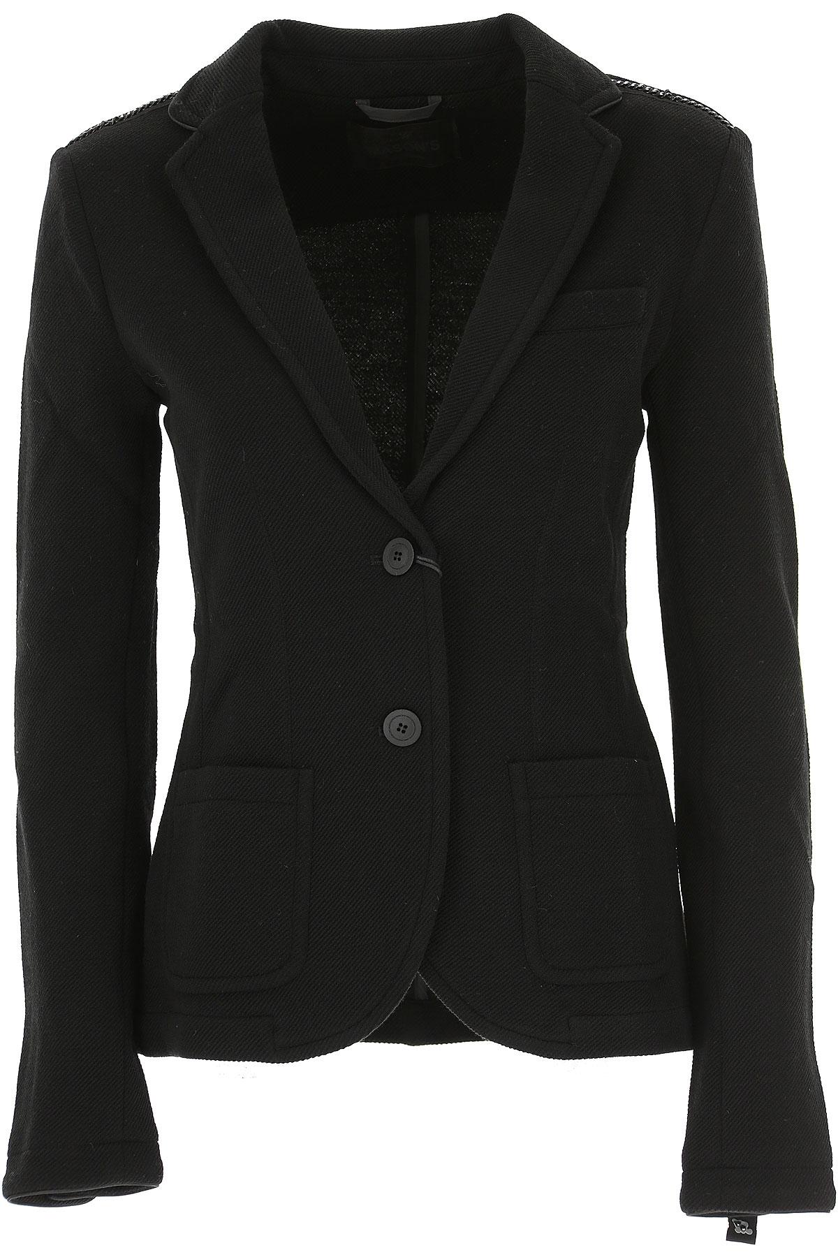 Image of Masons Blazer for Women, Black, Wool, 2017, 10 6 8
