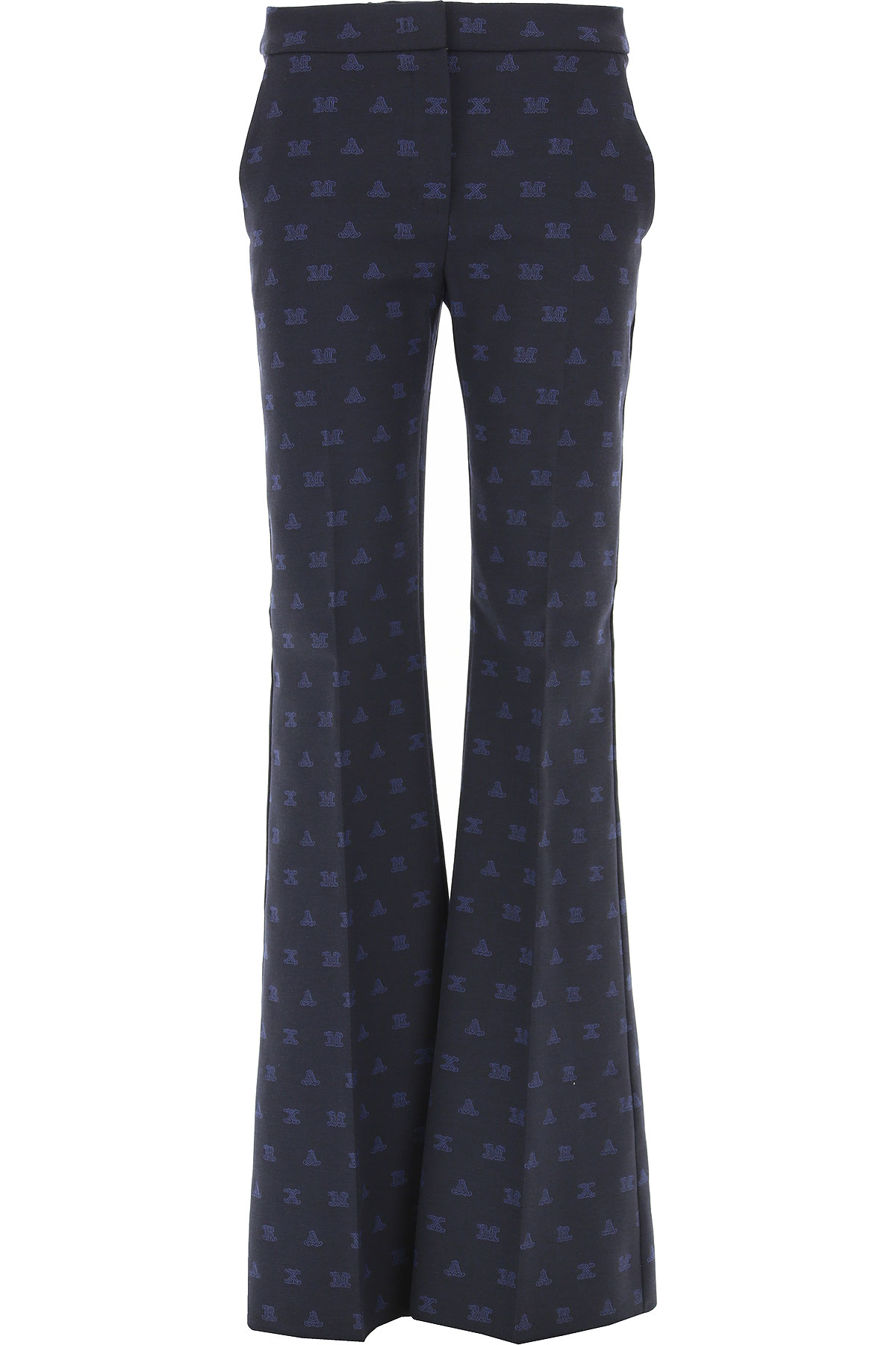 Image of Weekend by Max Mara Pants for Women, marine Blue, polyester, 2017, 26 28 30