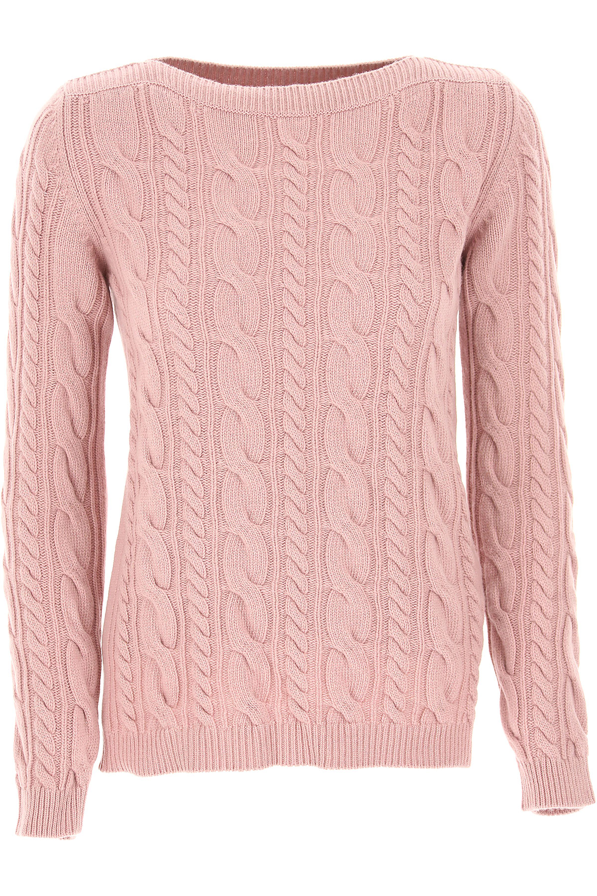 Image of Weekend by Max Mara Sweater for Women Jumper, Pink, Wool, 2017, 6 8
