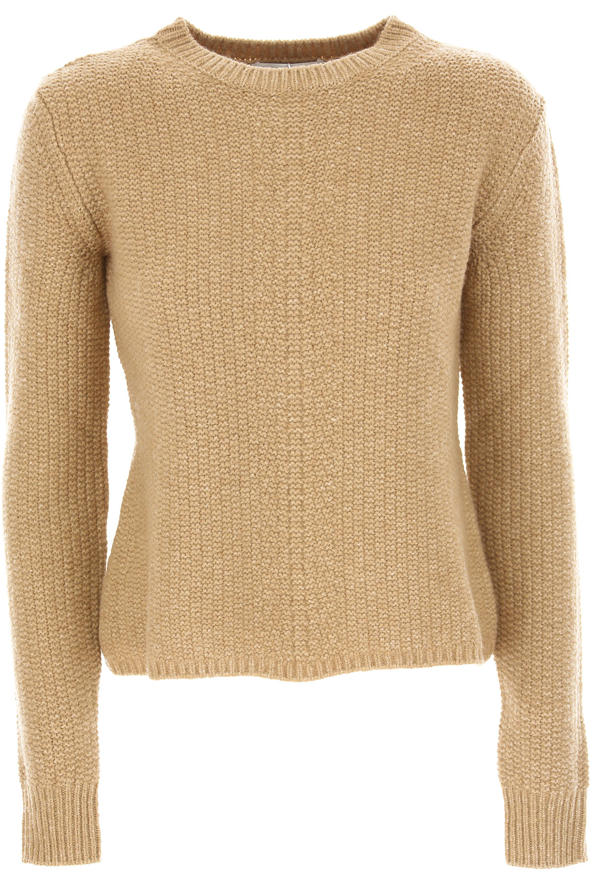 Image of Weekend by Max Mara Sweater for Women Jumper, Camel, Wool, 2017, 4 8
