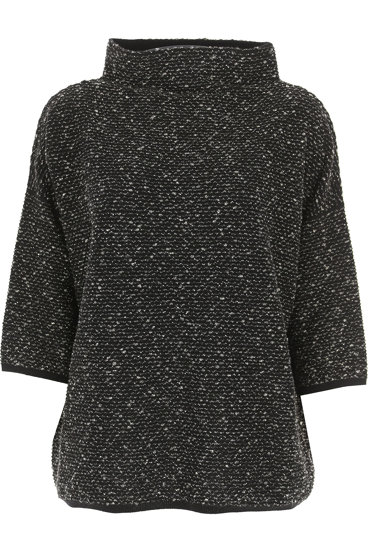 Image of Weekend by Max Mara Sweater for Women Jumper, Black, Wool, 2017, 4 6