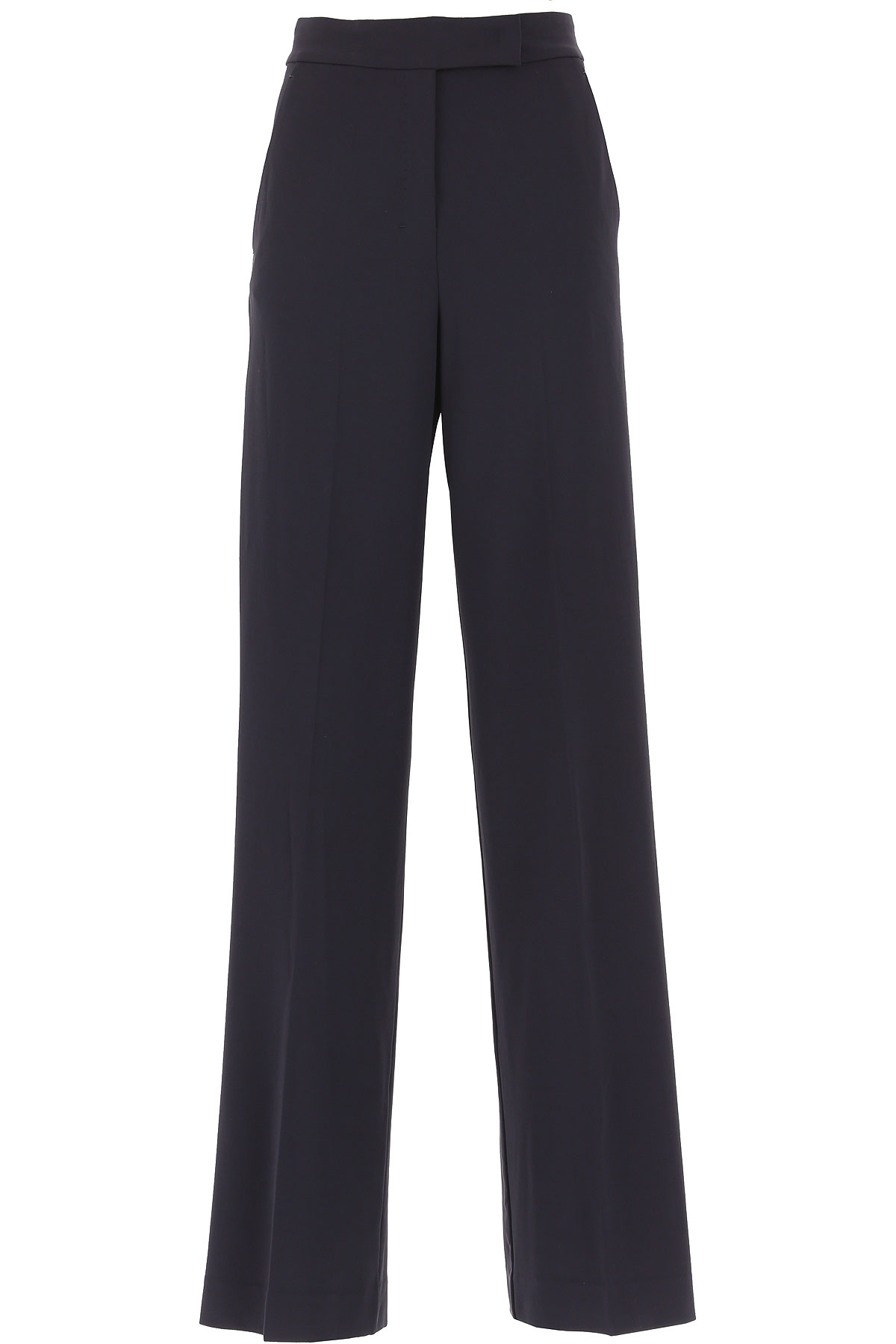 Max Mara Pants for Women On Sale, Midnight Blue, Viscose, 2019, 26 28