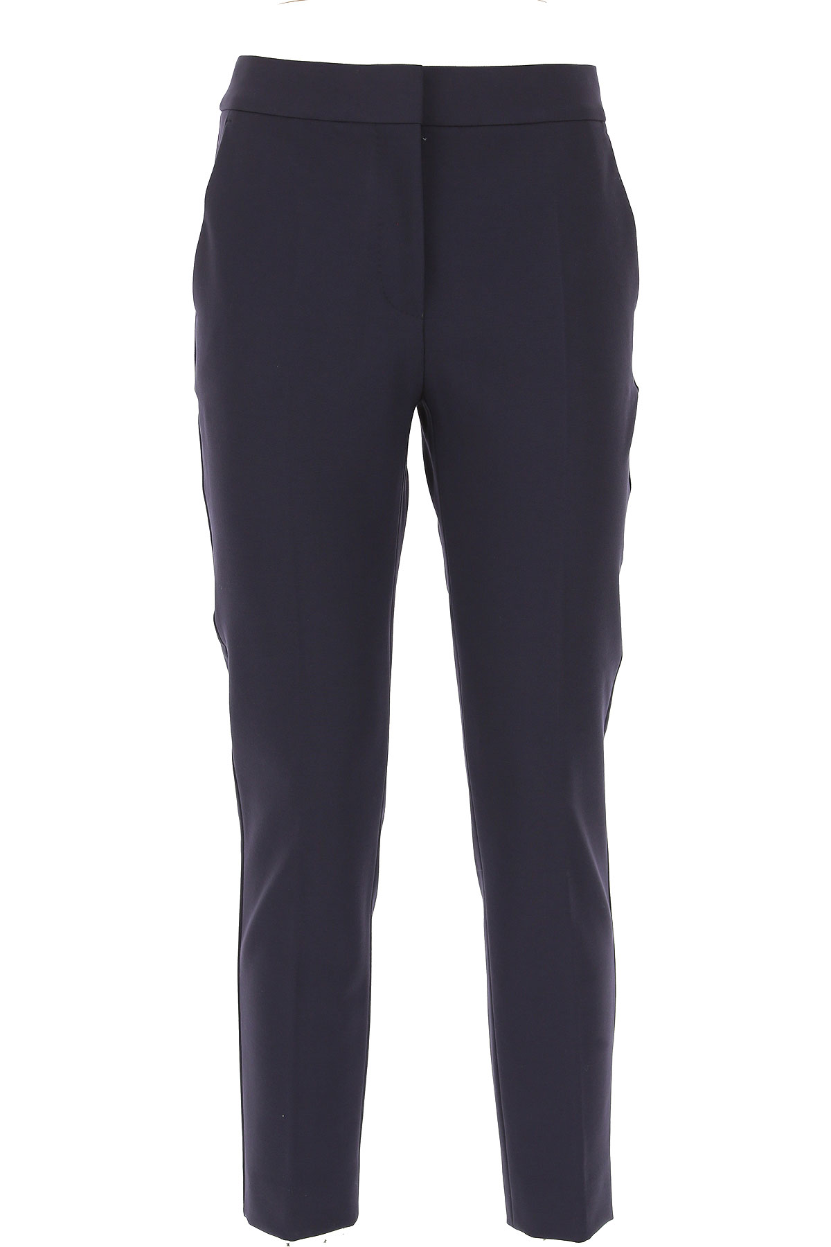 Image of Weekend by Max Mara Pants for Women, Blue Navy, Viscose, 2017, 28 30 32