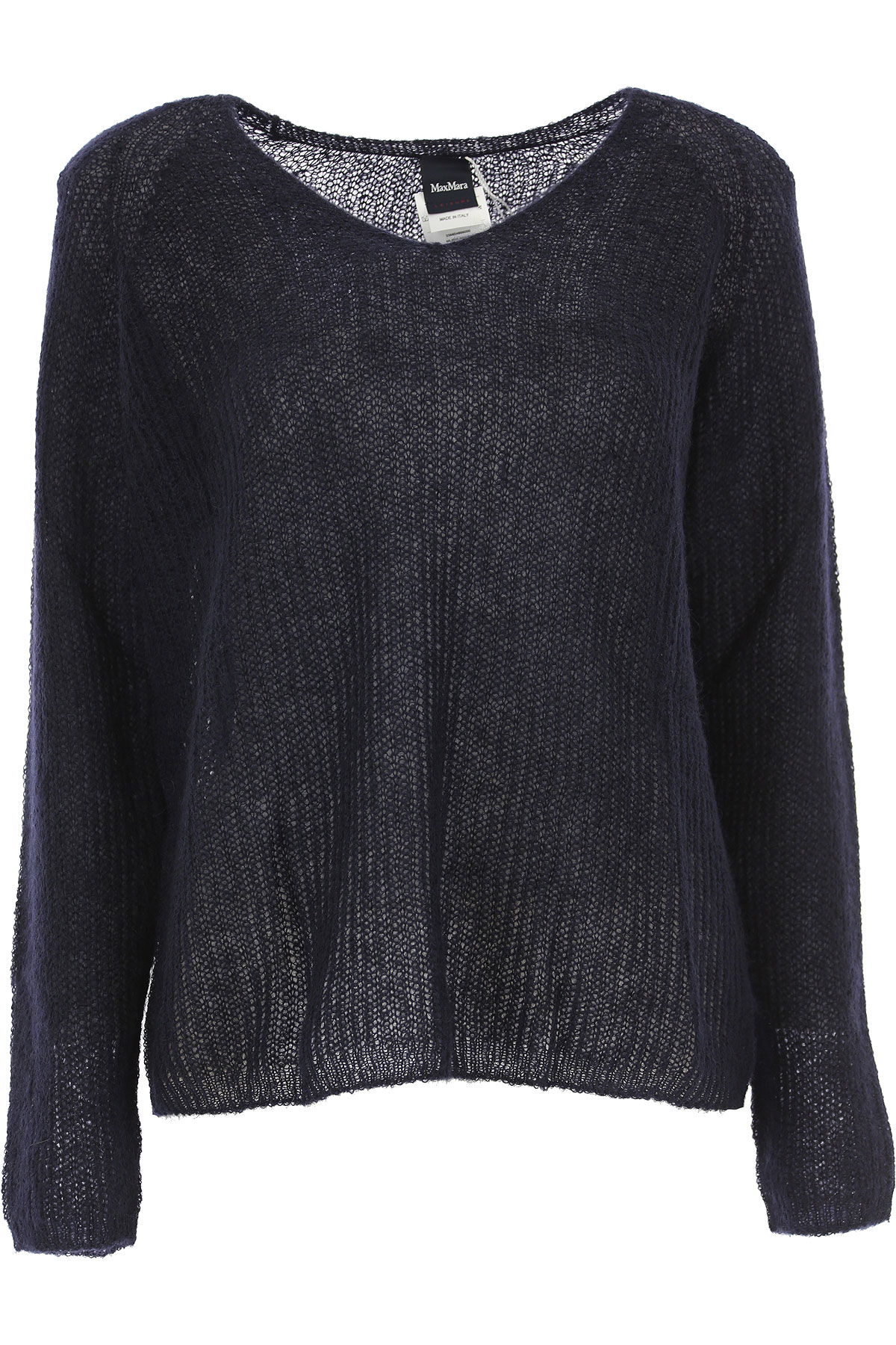 Image of Weekend by Max Mara Sweater for Women Jumper, Dark Navy Blue, Mohair, 2017, 4 6 8