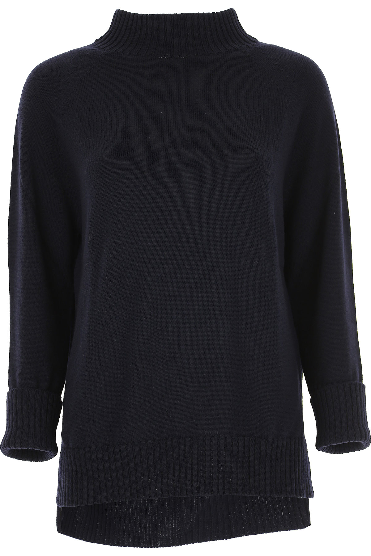 Image of Weekend by Max Mara Sweater for Women Jumper, Dark Navy Blue, Wool, 2017, 4 6
