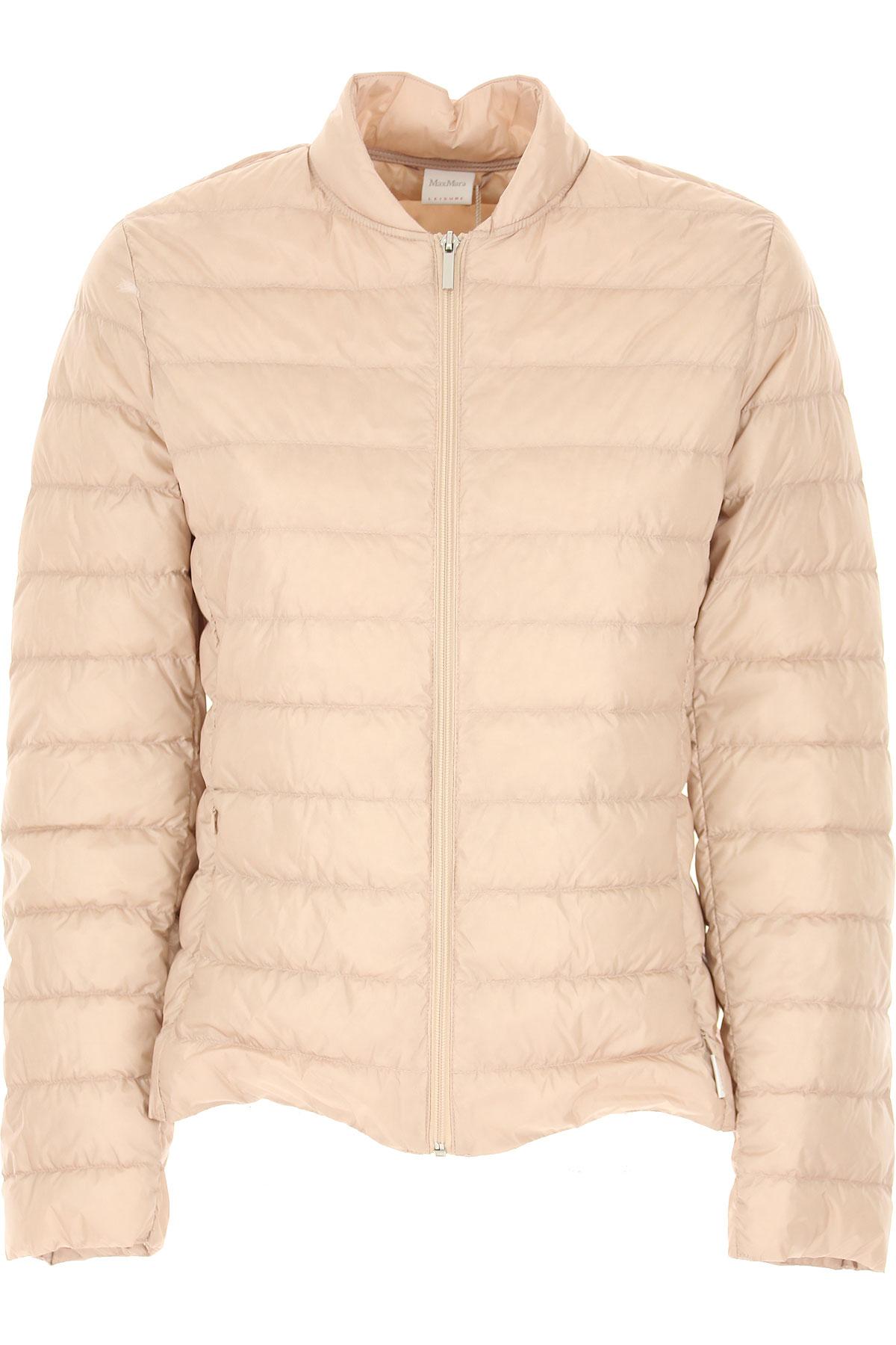 Max Mara Down Jacket for Women, Puffer Ski Jacket On Sale, Dusty, polyamide, 2019, 4 6