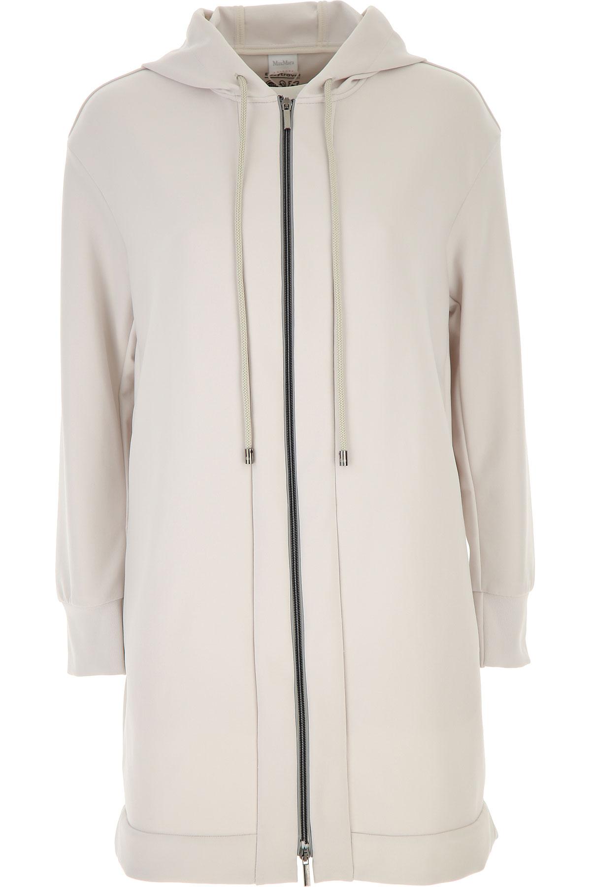 Max Mara Jacket for Women On Sale, Chalk, polyamide, 2019, 4 8