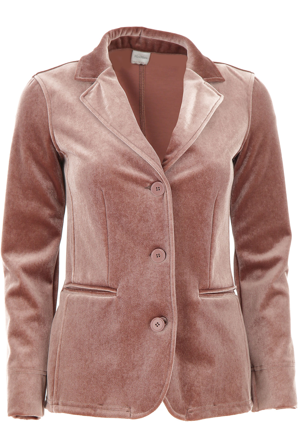 Max Mara Blazer for Women On Sale, antique pink, polyestere, 2019, 4 6