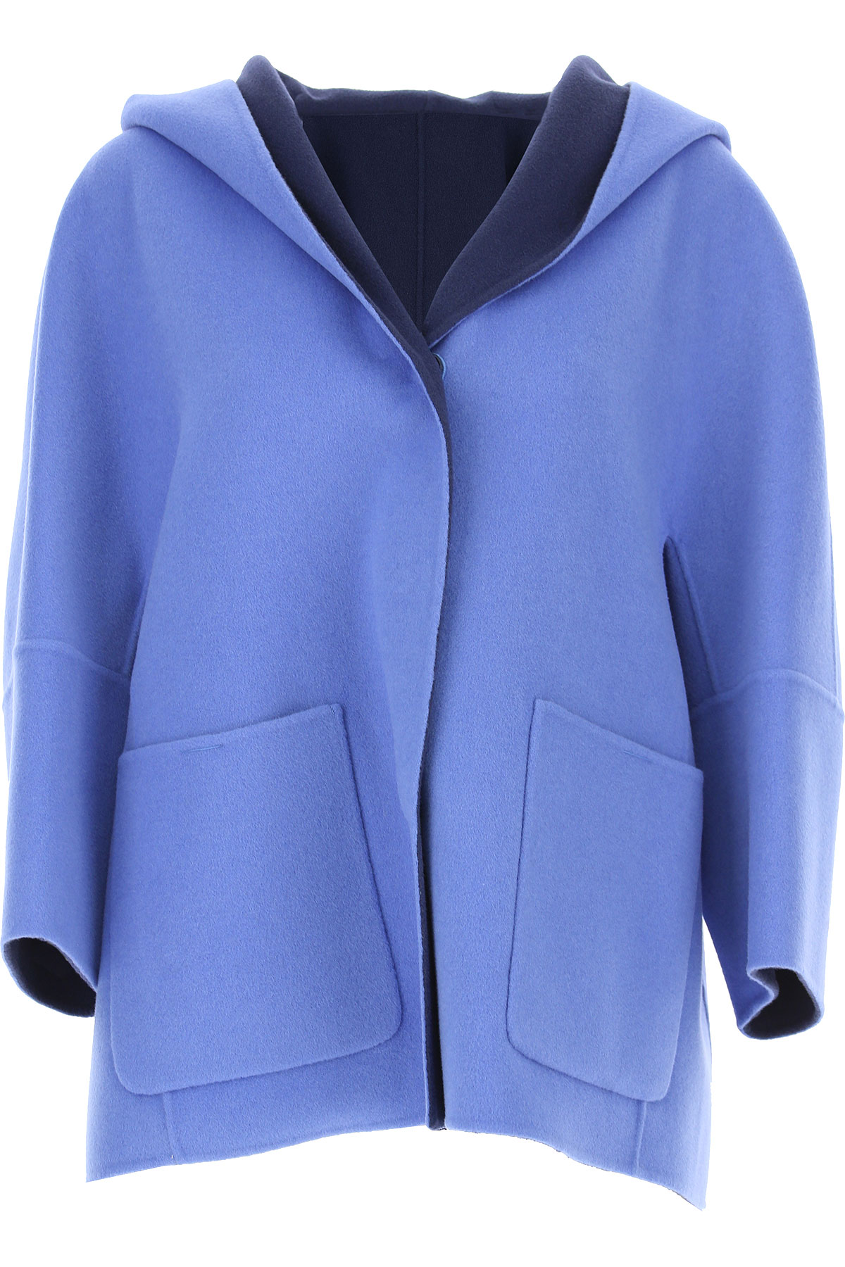 Image of Weekend by Max Mara Blazer for Women, Sky Blue, Wool, 2017, 4 6 8