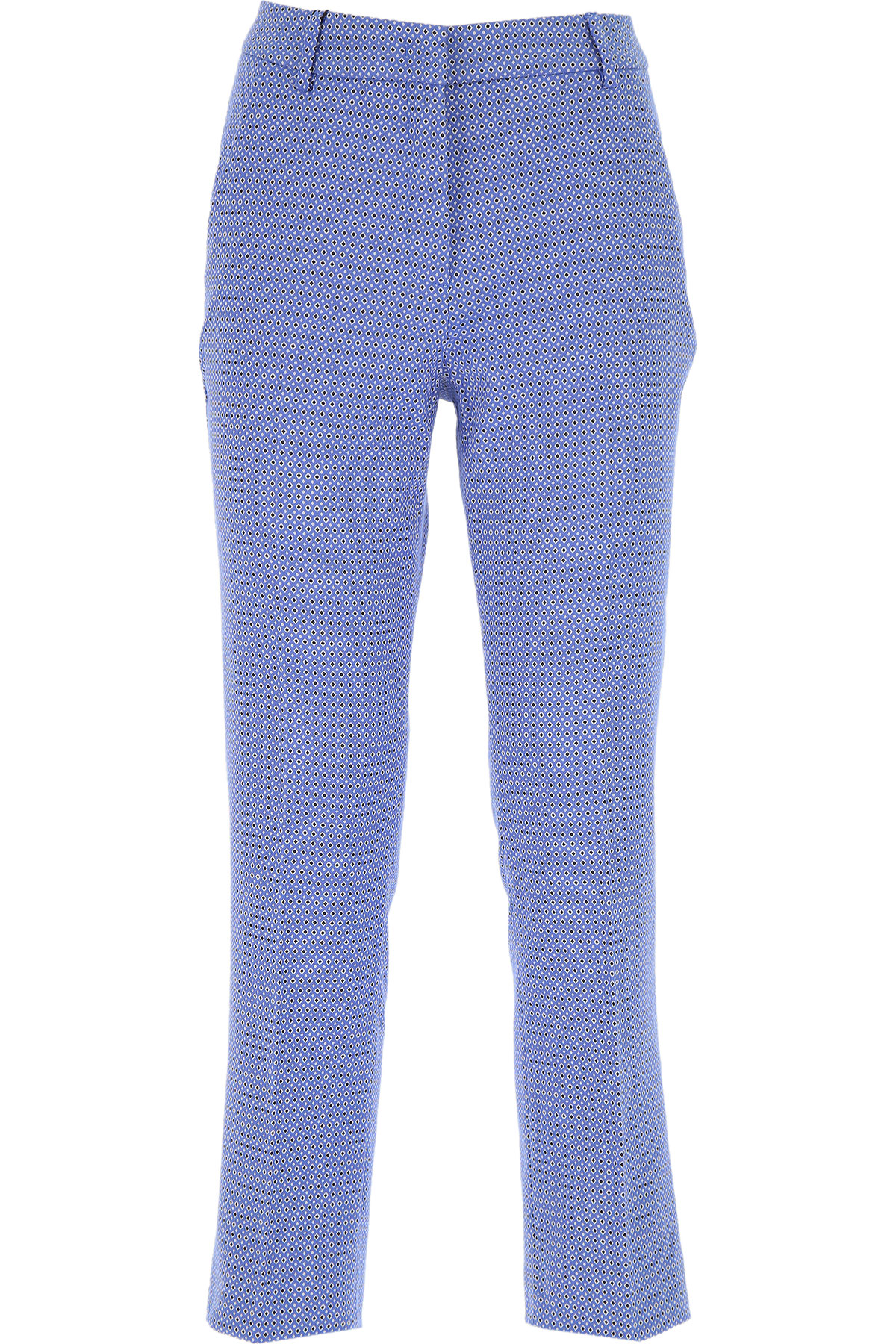 Max Mara Pants for Women On Sale, Denim Blue, polyester, 2019, 30 34 8