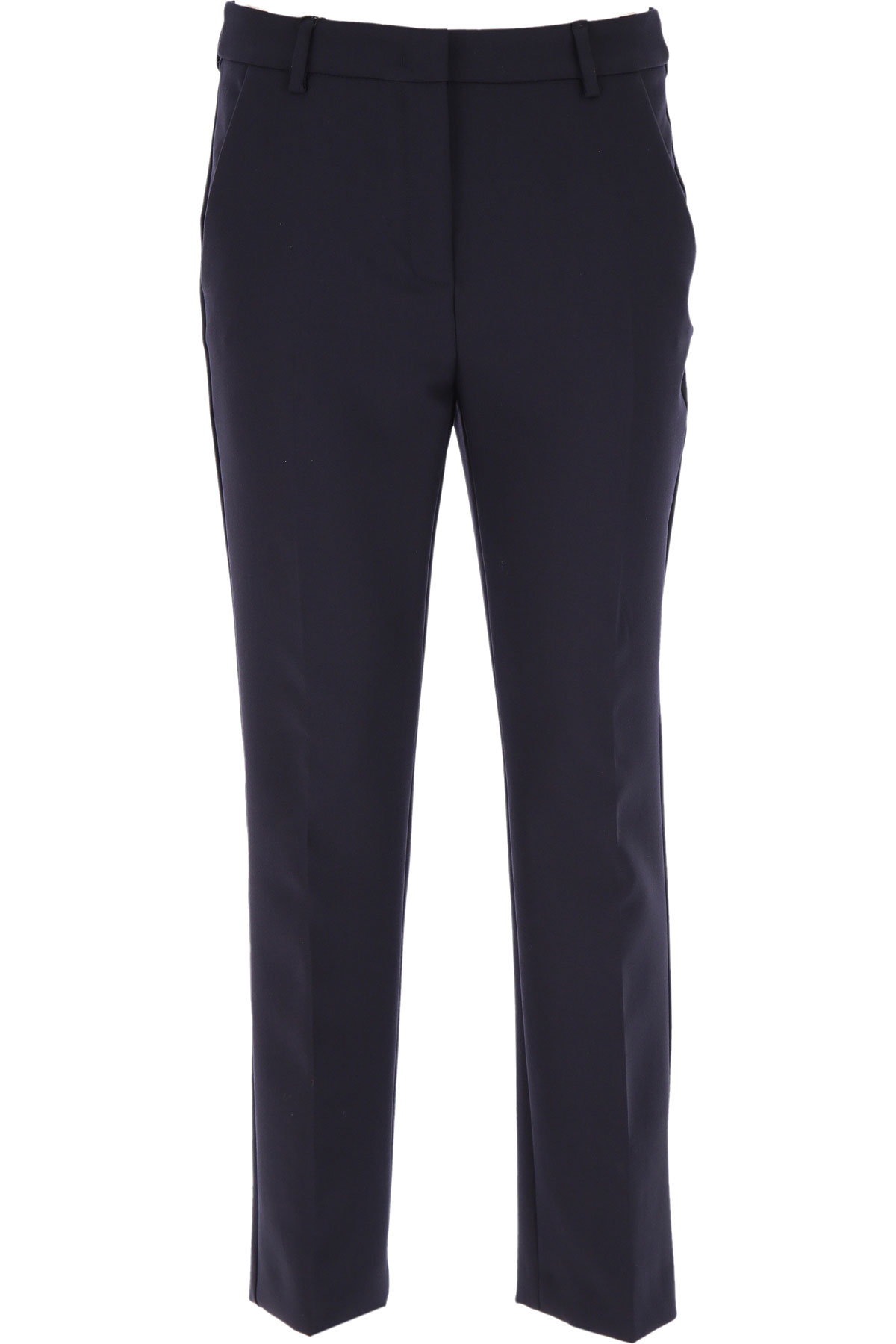 Max Mara Pants for Women On Sale, Navy Blue, polyester, 2019, 30 34 8