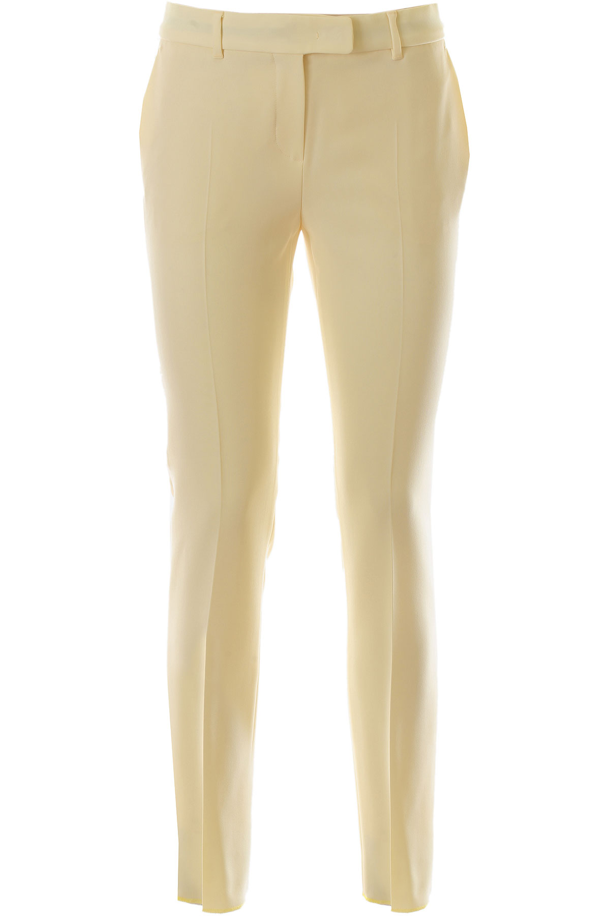 Max Mara Pants for Women On Sale, Light Beige, Triacetate, 2019, 34 4