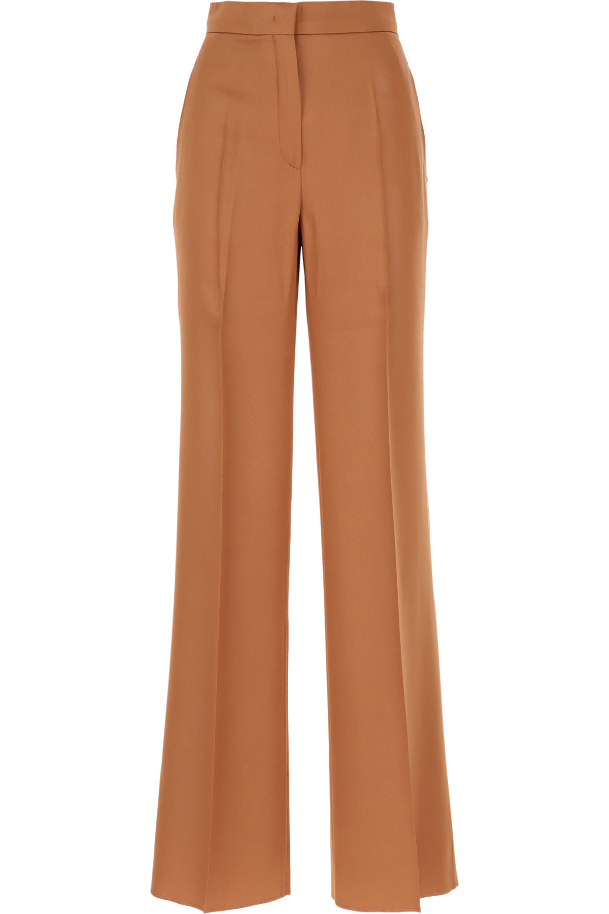 Max Mara Pants for Women On Sale, Brown, acetate, 2019, 34 4 6