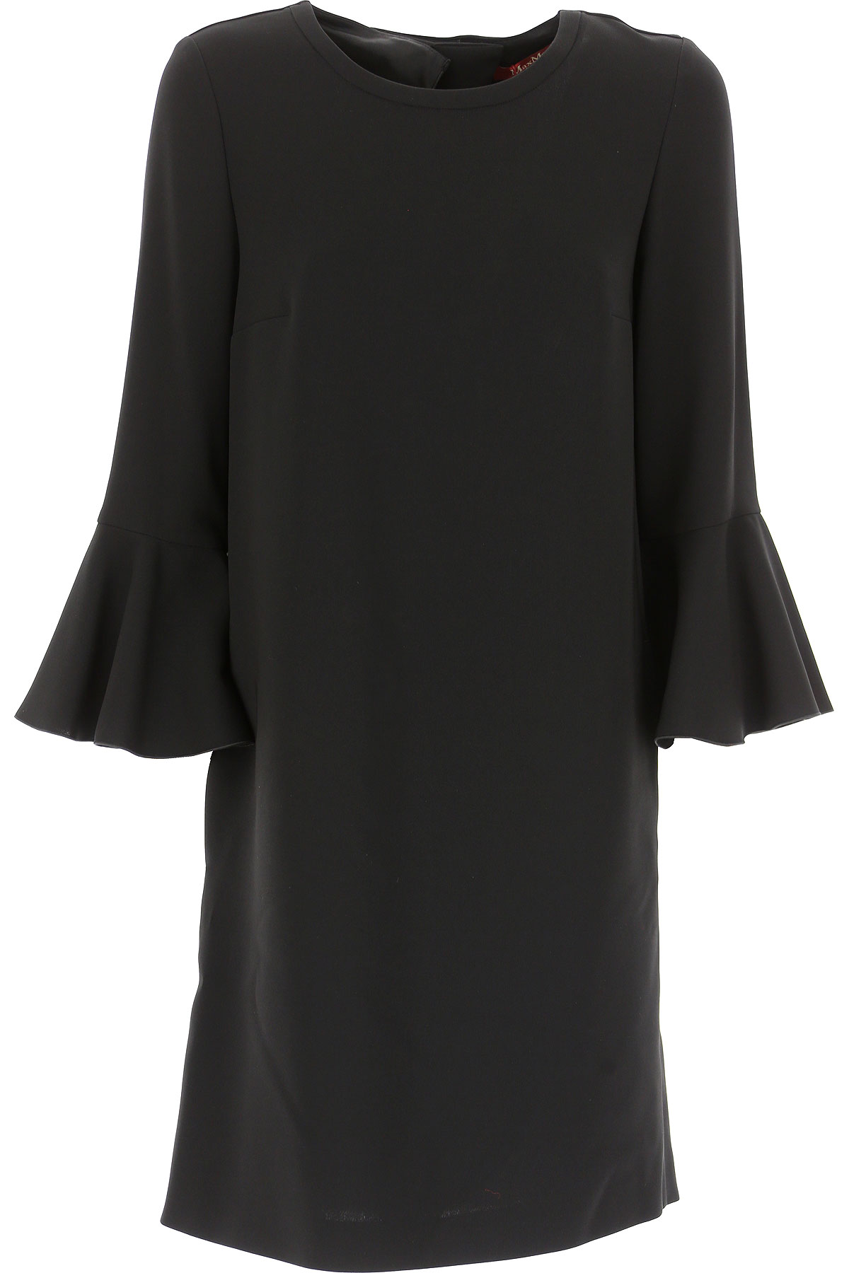Image of Weekend by Max Mara Dress for Women, Evening Cocktail Party, Black, Triacetate, 2017, 2