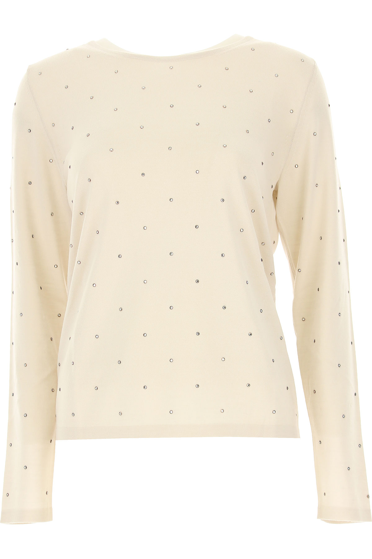 Image of Weekend by Max Mara Sweater for Women Jumper, Vanille, Wool, 2017, 10 4 6 8