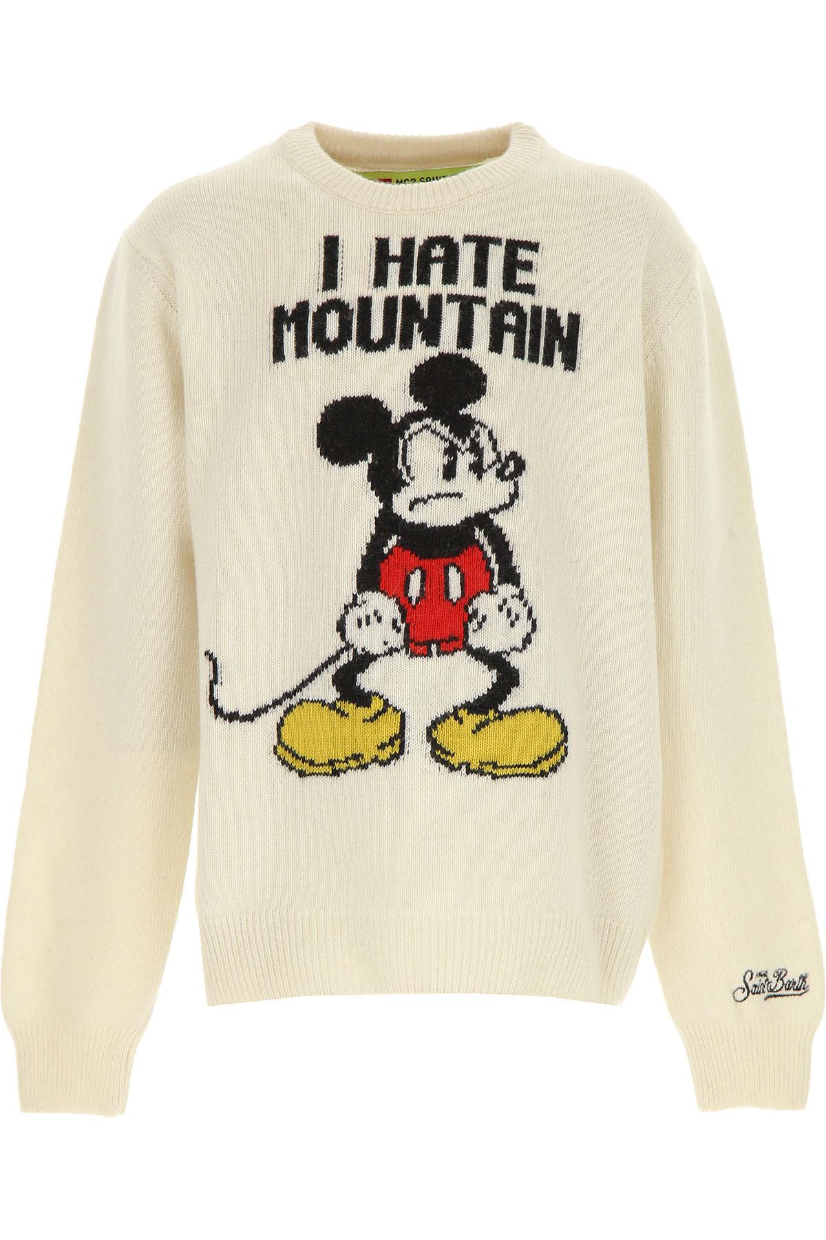 Mc2 Saint Barth Kids Sweaters for Boys On Sale, Ivory, Wool, 2019, 10Y 12Y 16Y 2Y 4Y 6Y 8Y
