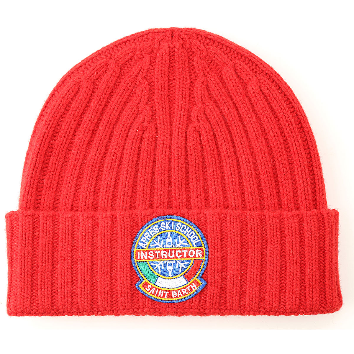 Mc2 Saint Barth Hat for Women, Red, Wool, 2019