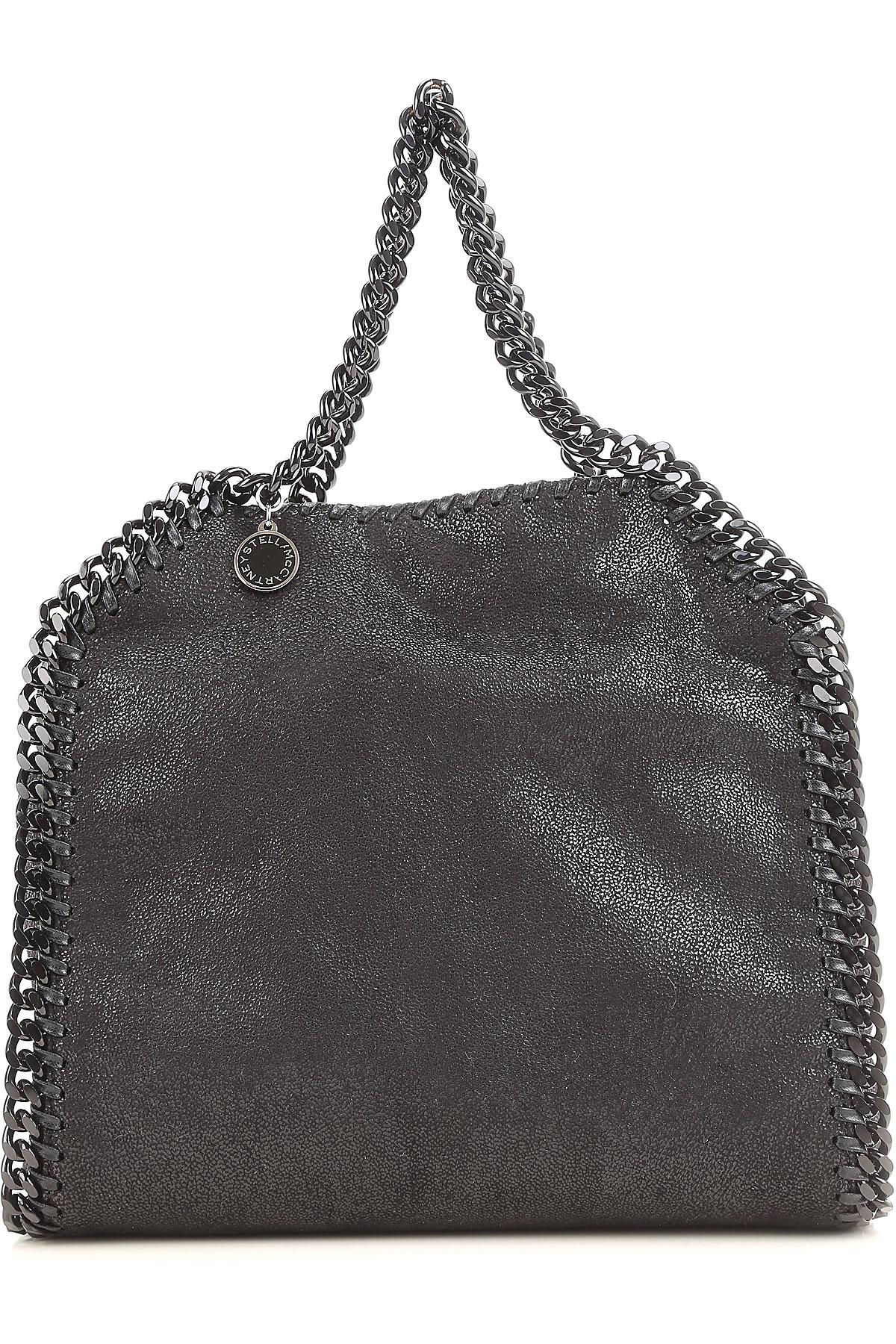 Stella McCartney Bolso Tote Bag, Mini , Negro, Poliester, 2017