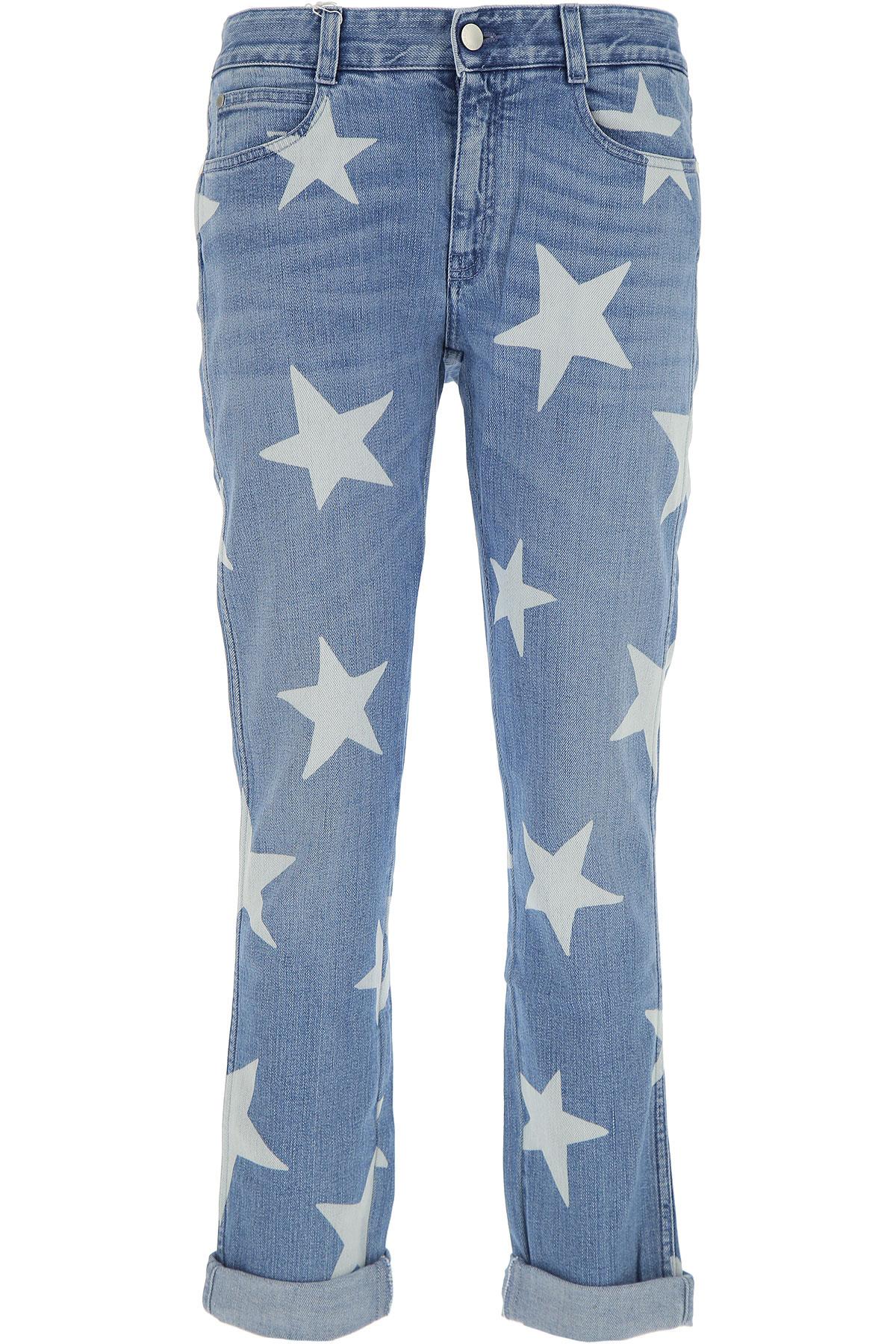 Stella McCartney Jeans, Denim Blue, Cotton, 2017, 25 26 27 28 29 USA-432025