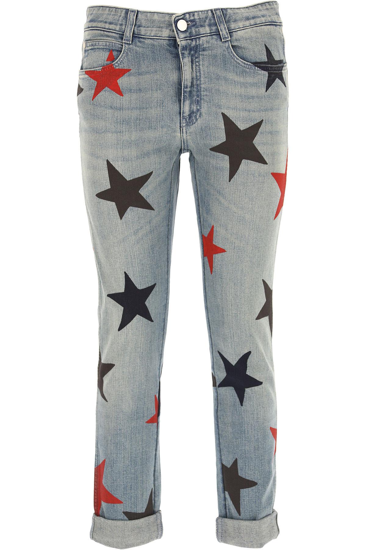Stella McCartney Jeans, Denim Light Blue, Cotton, 2017, 26 28 USA-436695