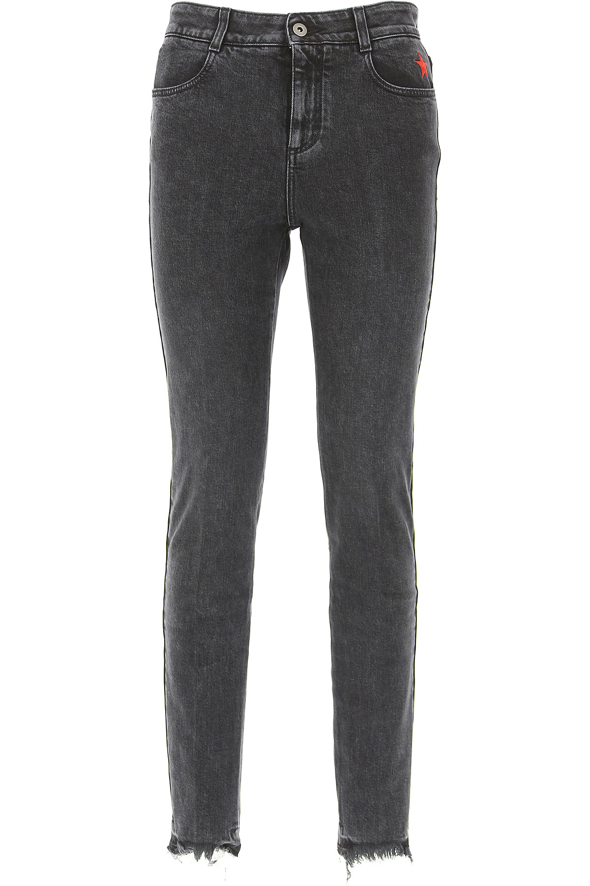 Stella McCartney Jeans On Sale, Washed Black, Cotton, 2017, 25 26 27 28 30