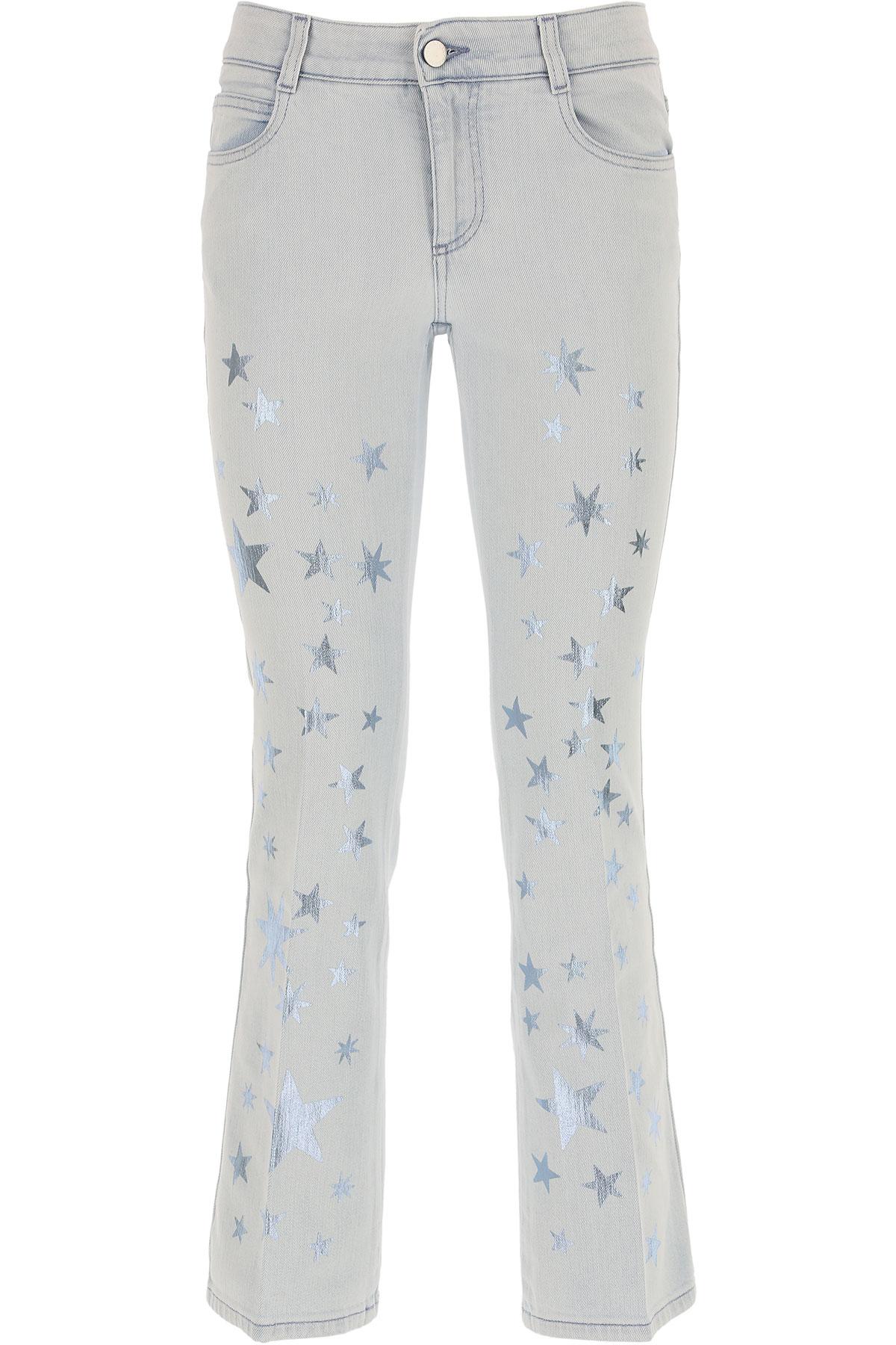 Stella McCartney Jeans, Denim Light Blue, Cotton, 2017, 25 26 27 28 29 30 USA-436681