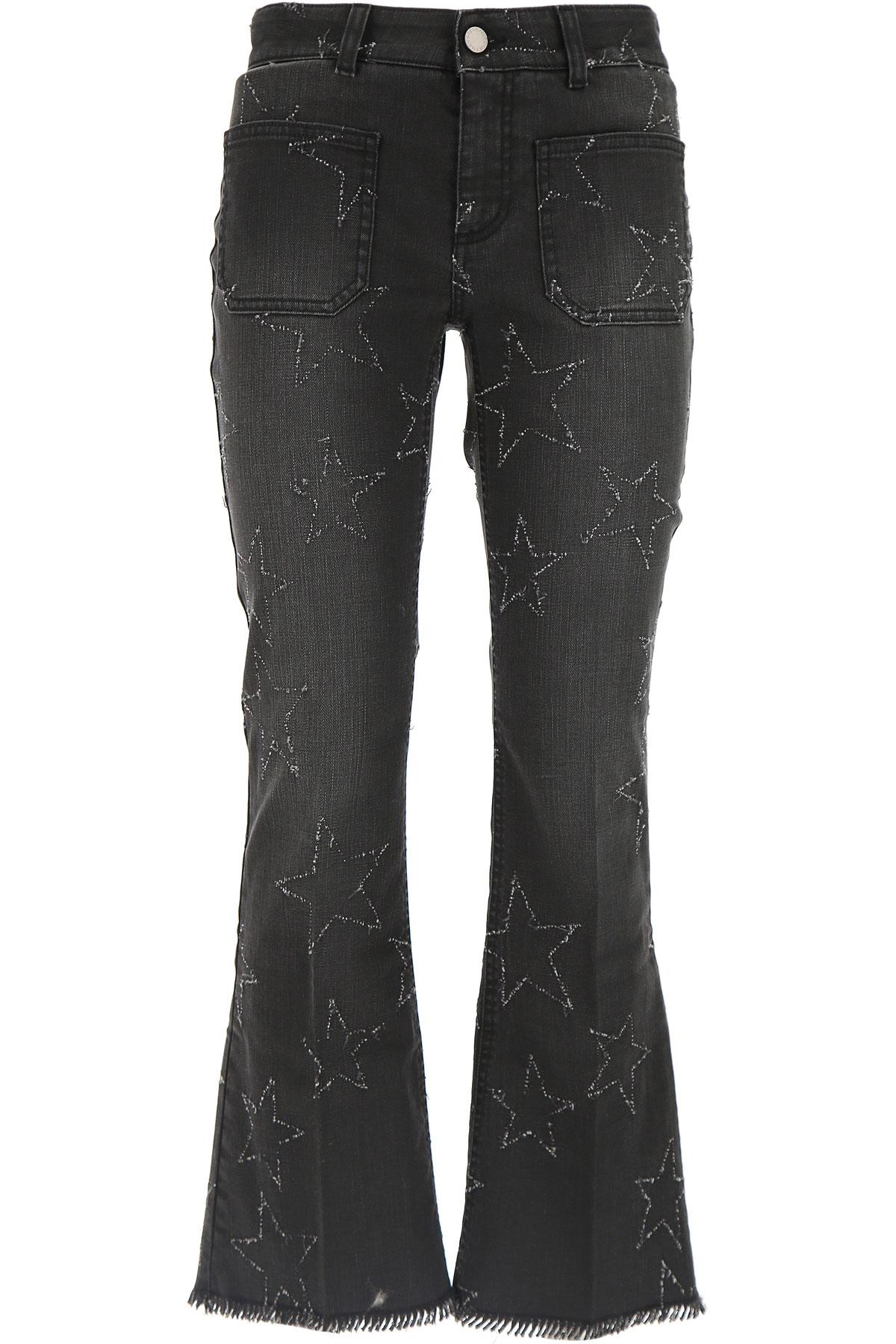 Stella McCartney Jeans, Black, Cotton, 2017, 26 27 29 USA-432055