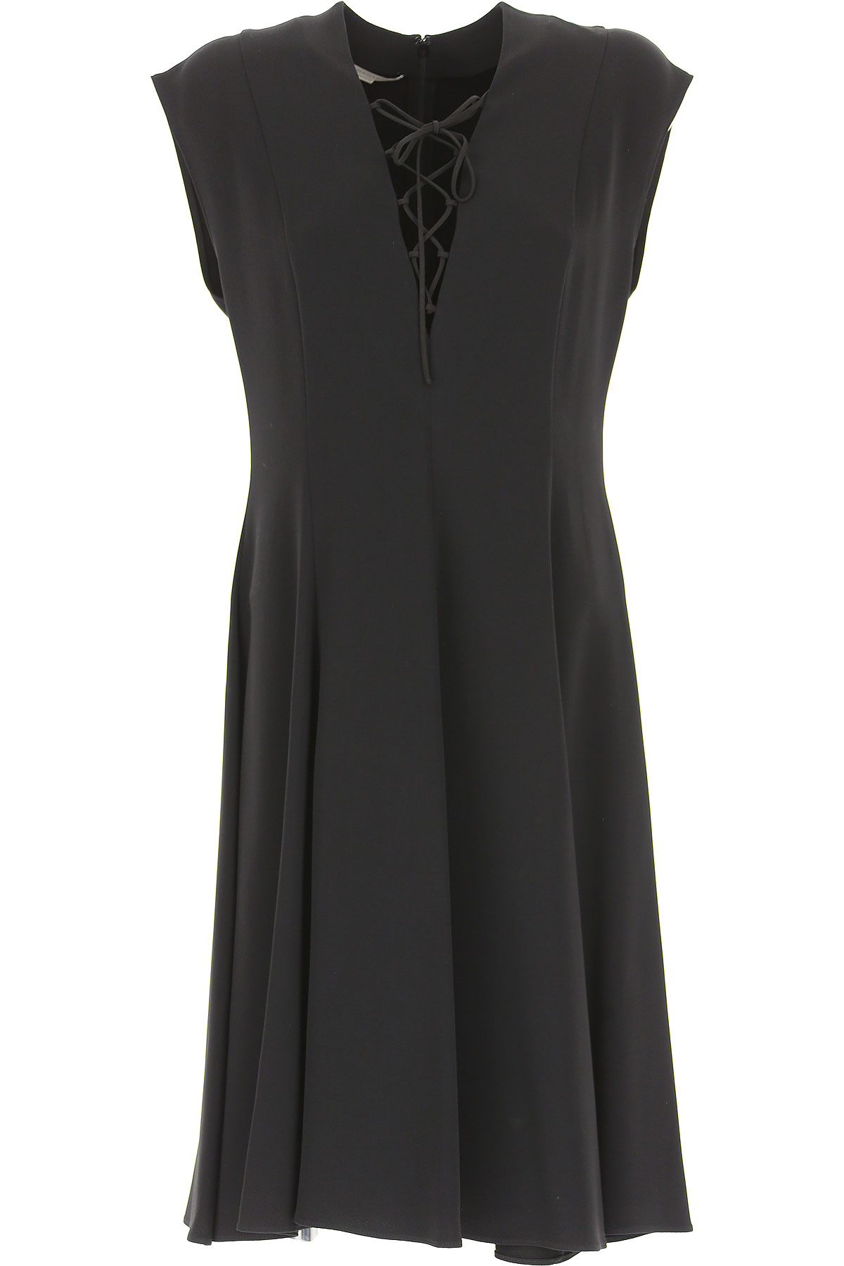 Stella McCartney Dress for Women, Evening Cocktail Party, Black, Viscose, 2017, 6 8 USA-470586