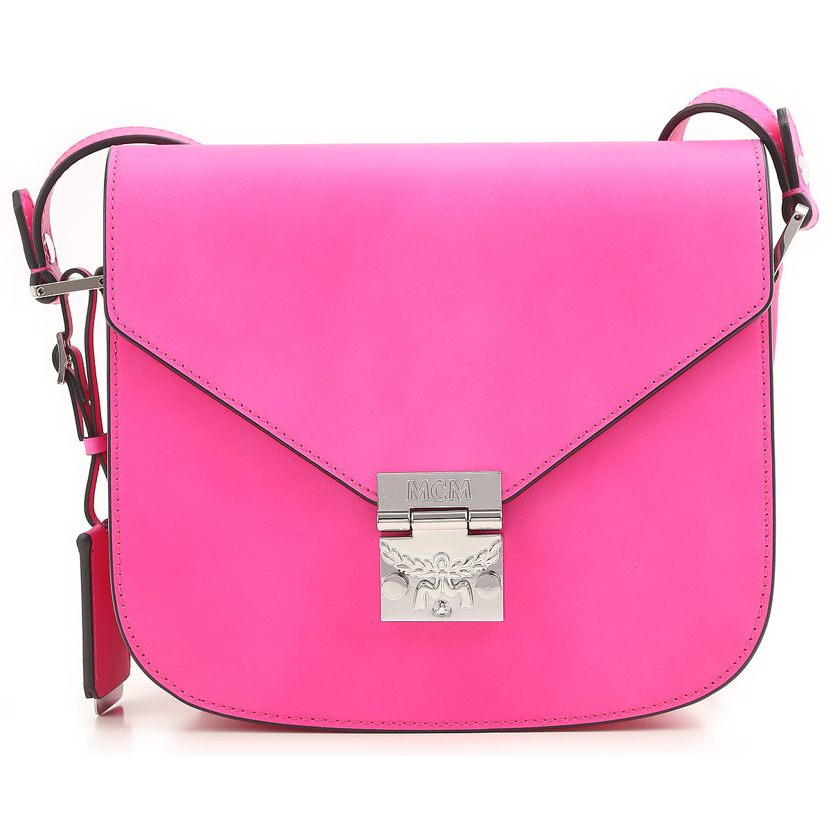 Image of MCM Shoulder Bag for Women On Sale in Outlet, fuxia, Leather, 2017