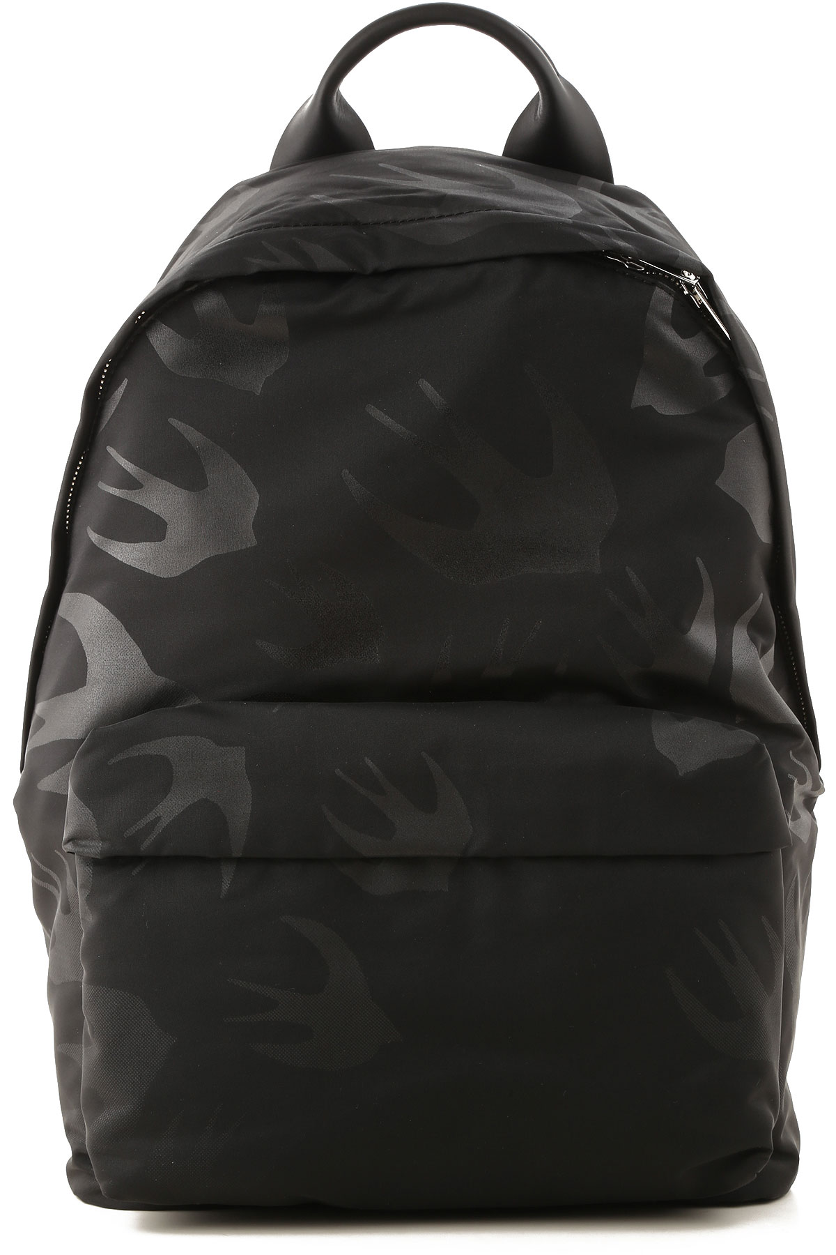Alexander McQueen McQ Backpack for Men On Sale, Black, polyester, 2019