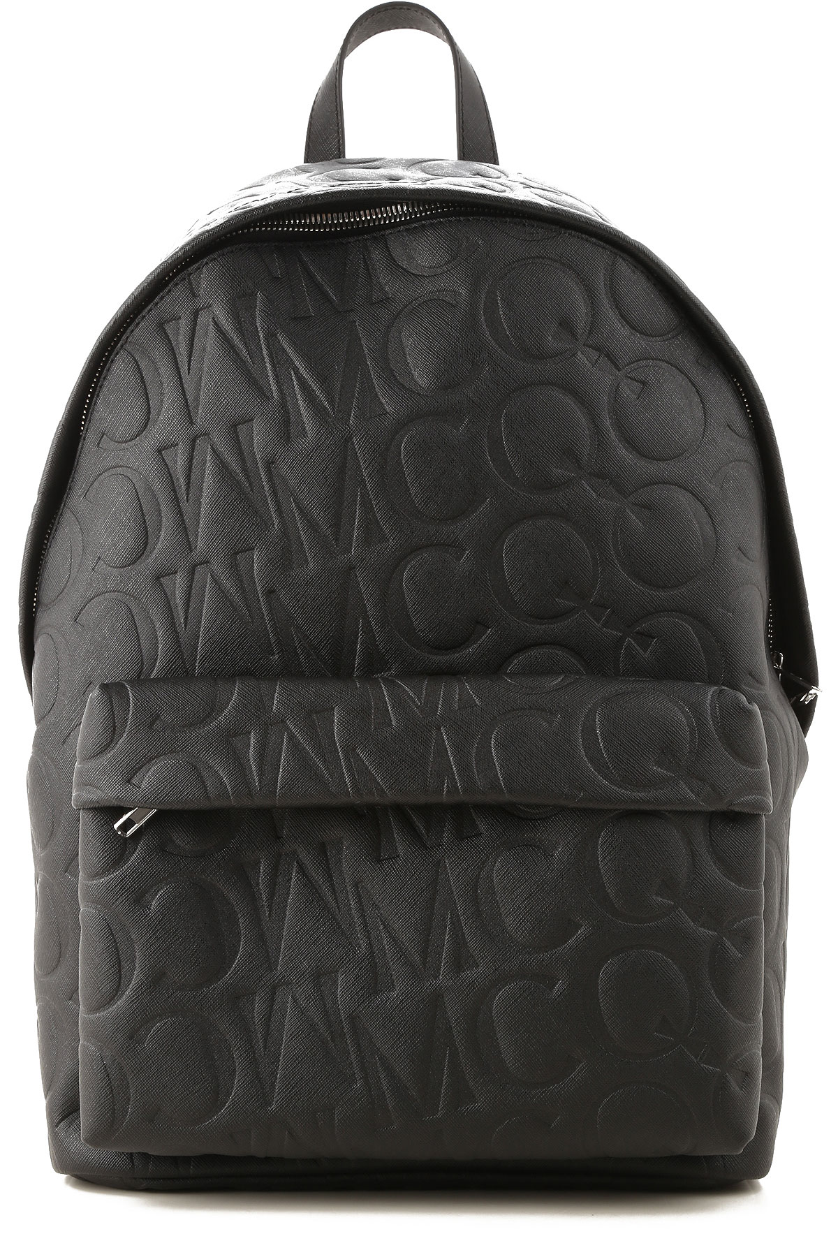 Alexander McQueen McQ Backpack for Men On Sale, Black, Leather, 2019