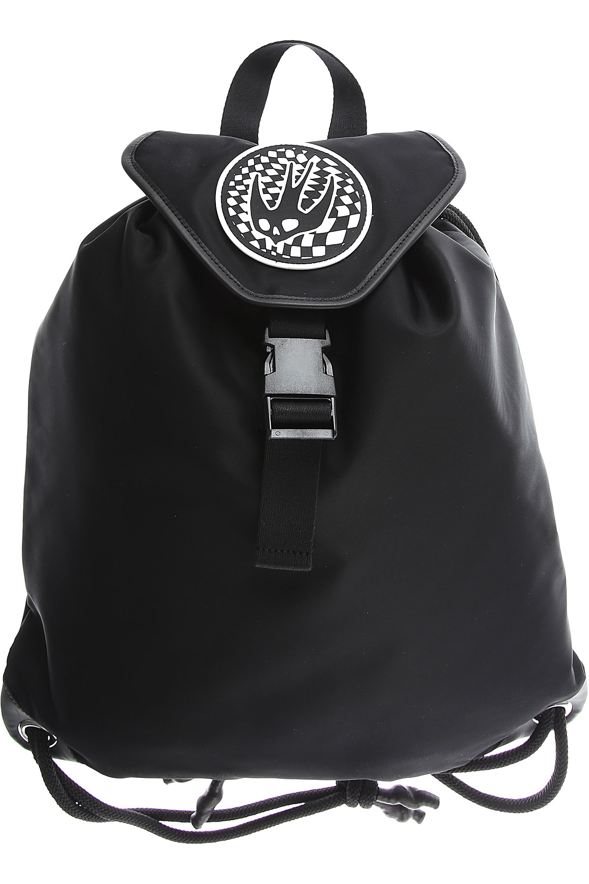 Alexander McQueen McQ Backpack for Men On Sale in Outlet, Black, Nylon, 2019